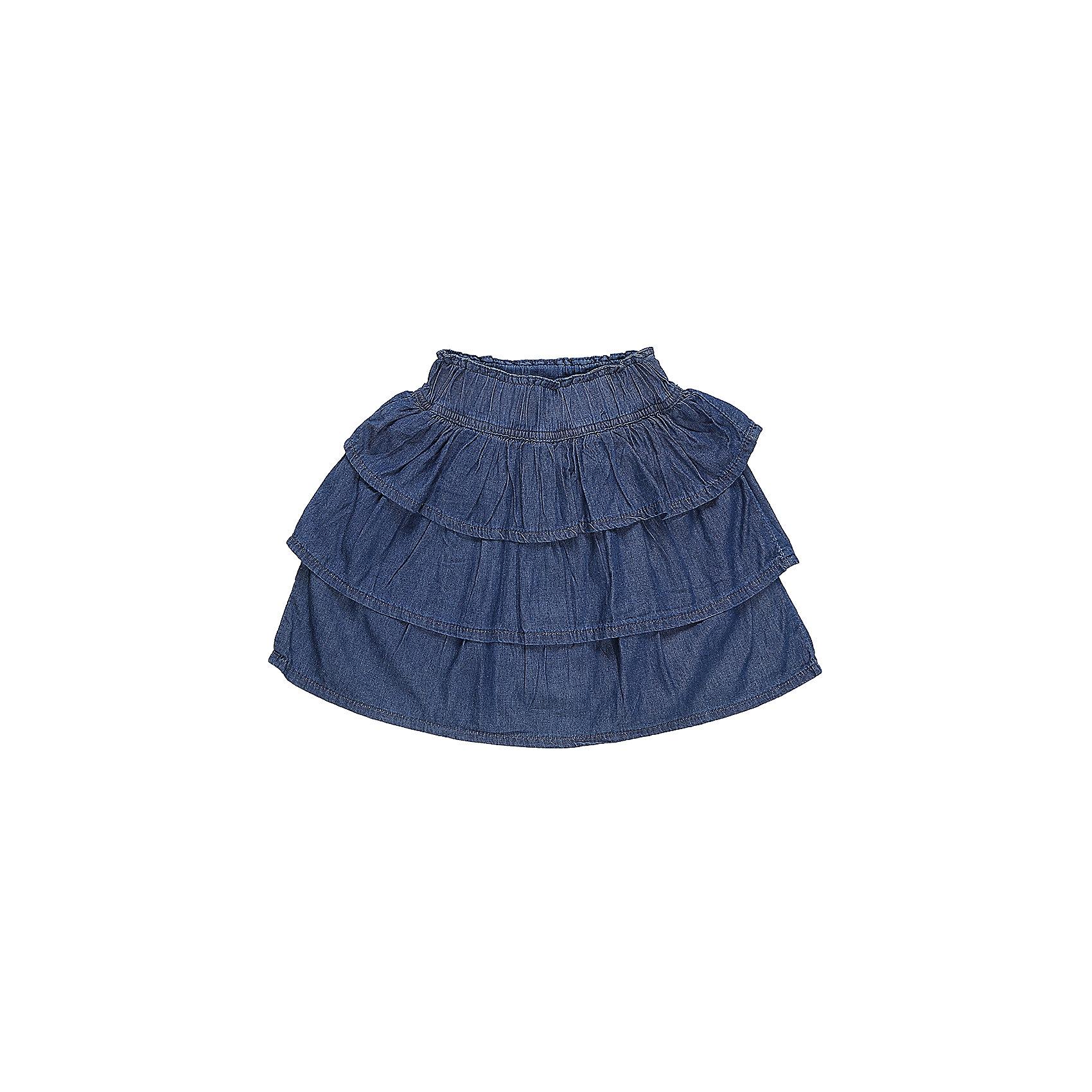Юбка джинсовая для девочки Sweet BerryЮбки<br>Многоярусная юбка из трикотажной ткани под Джинсу. Широкий эластичный пояс.<br>Состав:<br>100%хлопок<br><br>Ширина мм: 207<br>Глубина мм: 10<br>Высота мм: 189<br>Вес г: 183<br>Цвет: синий<br>Возраст от месяцев: 36<br>Возраст до месяцев: 48<br>Пол: Женский<br>Возраст: Детский<br>Размер: 104,98,110,116,122,128<br>SKU: 5411962