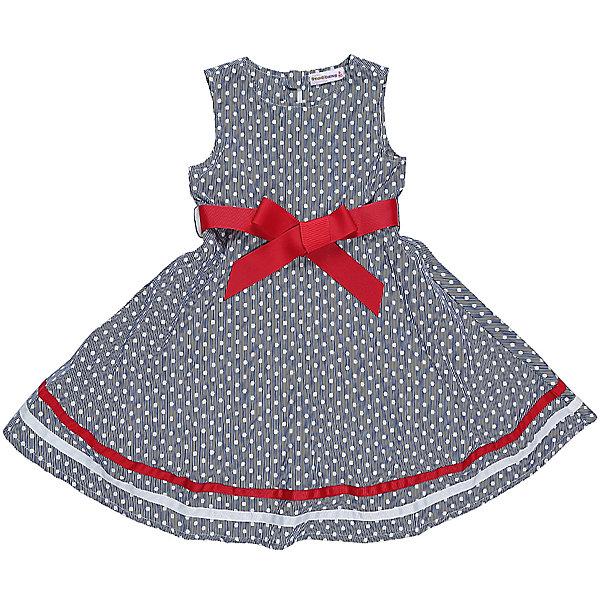 Платье для девочки Sweet BerryПлатья и сарафаны<br>Классическое хлопковое платье в горошек для девочки с ярким пояском. Низ изделия декорирован контрастным лентами. Застегивается на потайную молнию на спинке.<br>Состав:<br>Верх: 100% хлопок, Подкладка: 100%хлопок<br>Ширина мм: 236; Глубина мм: 16; Высота мм: 184; Вес г: 177; Цвет: синий; Возраст от месяцев: 36; Возраст до месяцев: 48; Пол: Женский; Возраст: Детский; Размер: 104,98,110,116,122,128; SKU: 5411997;