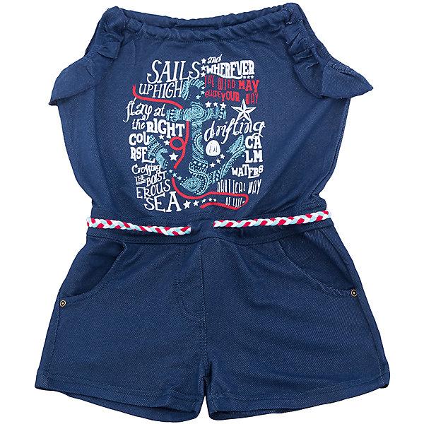 Комбинезон джинсовый для девочки Sweet BerryДжинсовая одежда<br>Стильный трикотажный полукомбинезон для девочки декорирован ярким принтом. Пояс-резинка дополнен шнуром для регулирования объема.<br>Состав:<br>95%хлопок 5%эластан<br><br>Ширина мм: 215<br>Глубина мм: 88<br>Высота мм: 191<br>Вес г: 336<br>Цвет: синий<br>Возраст от месяцев: 24<br>Возраст до месяцев: 36<br>Пол: Женский<br>Возраст: Детский<br>Размер: 128,122,116,110,98,104<br>SKU: 5412025