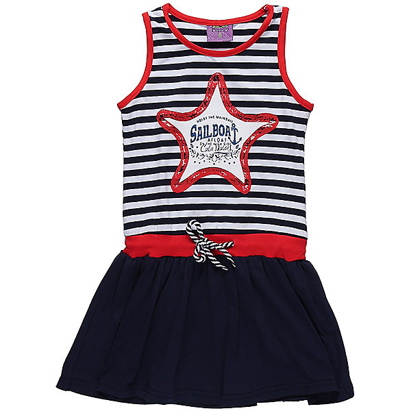 Платье для девочки Sweet BerryПлатья и сарафаны<br>Трикотажное платье для девочки без рукавов в полоску. Декрированно оригинальным принтом и контрастным воланом.<br>Состав:<br>95%хлопок 5%эластан<br><br>Ширина мм: 236<br>Глубина мм: 16<br>Высота мм: 184<br>Вес г: 177<br>Цвет: синий<br>Возраст от месяцев: 24<br>Возраст до месяцев: 36<br>Пол: Женский<br>Возраст: Детский<br>Размер: 98,104,128,122,116,110<br>SKU: 5412092
