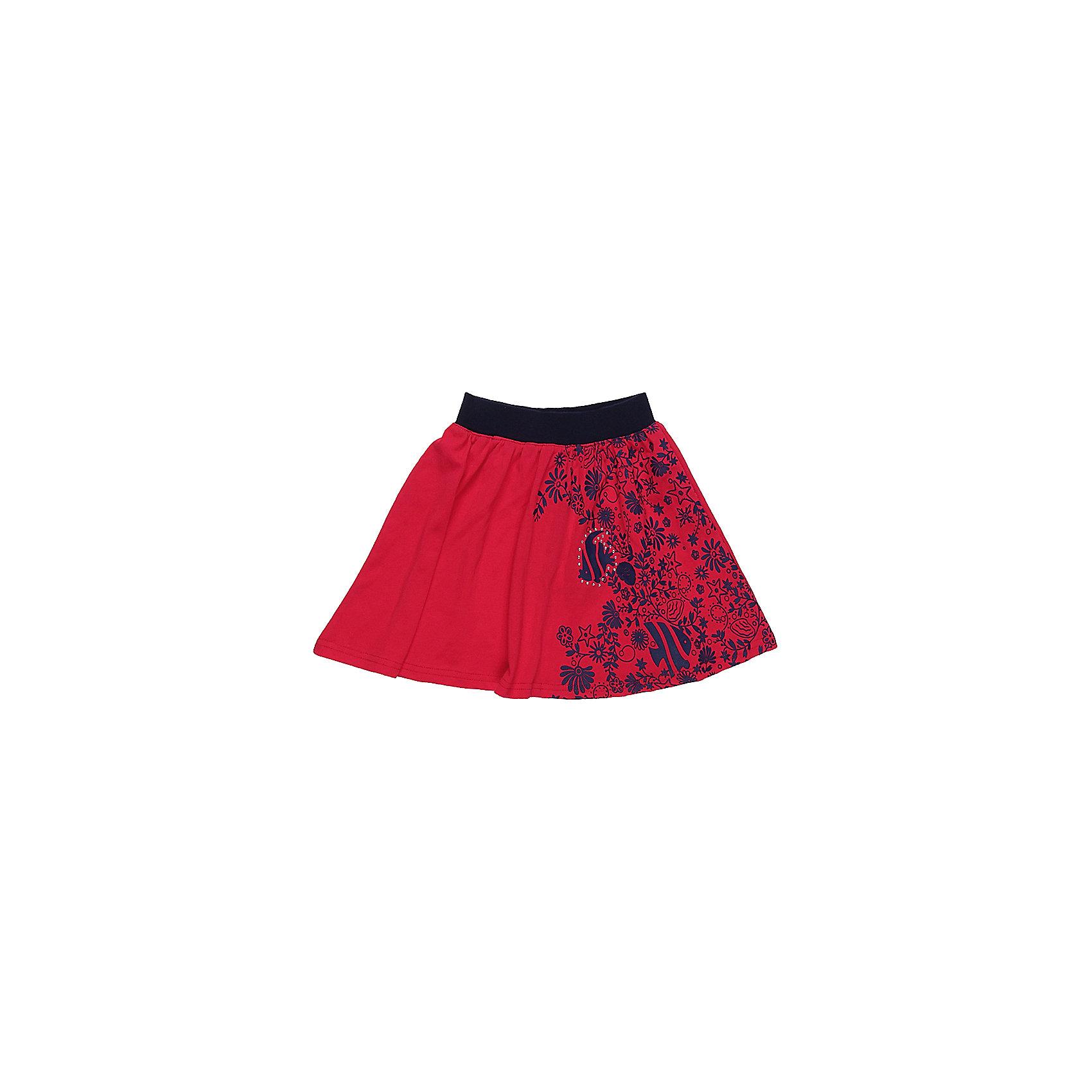 Юбка для девочки Sweet BerryЮбки<br>Яркая трикотажная юбка для девочки декорированная оригинальным принтом. Широкий контрастный пояс.<br>Состав:<br>100%хлопок<br><br>Ширина мм: 207<br>Глубина мм: 10<br>Высота мм: 189<br>Вес г: 183<br>Цвет: красный<br>Возраст от месяцев: 36<br>Возраст до месяцев: 48<br>Пол: Женский<br>Возраст: Детский<br>Размер: 104,98,110,116,122,128<br>SKU: 5412169