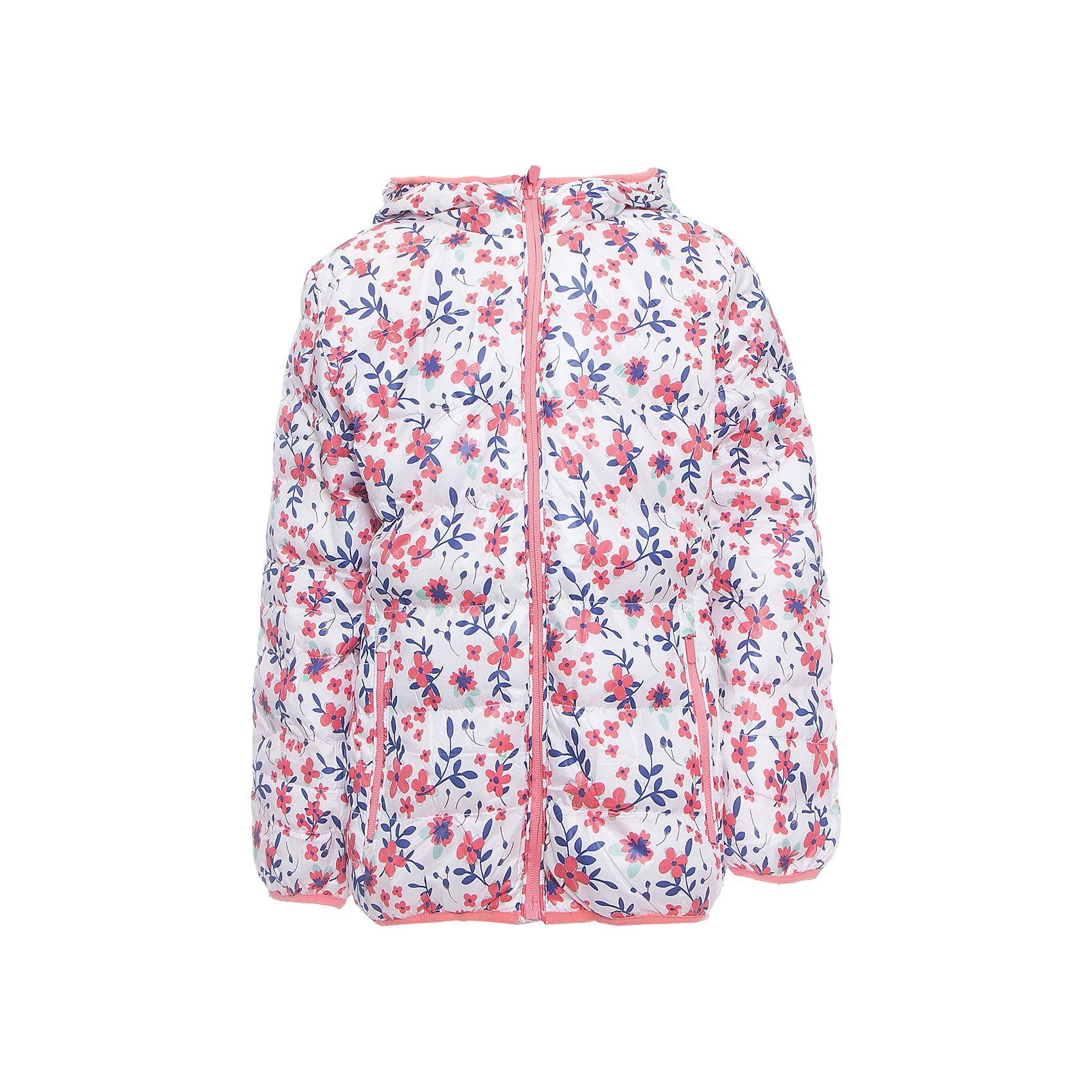 Куртка для девочки Sweet BerryУтепленная текстильная куртка для девочек. Нарядная и модная, с бело-розовой расцветкой.  Куртка имеет капюшон, который частично затягивается молнией.<br>Состав:<br>Верх: 100%полиэстер. Подкладка: 65%хлопок 35%полиэстер. Наполнитель: 100%полиэстер<br><br>Ширина мм: 356<br>Глубина мм: 10<br>Высота мм: 245<br>Вес г: 519<br>Цвет: розовый<br>Возраст от месяцев: 72<br>Возраст до месяцев: 84<br>Пол: Женский<br>Возраст: Детский<br>Размер: 122,128,104,98,110,116<br>SKU: 5412198
