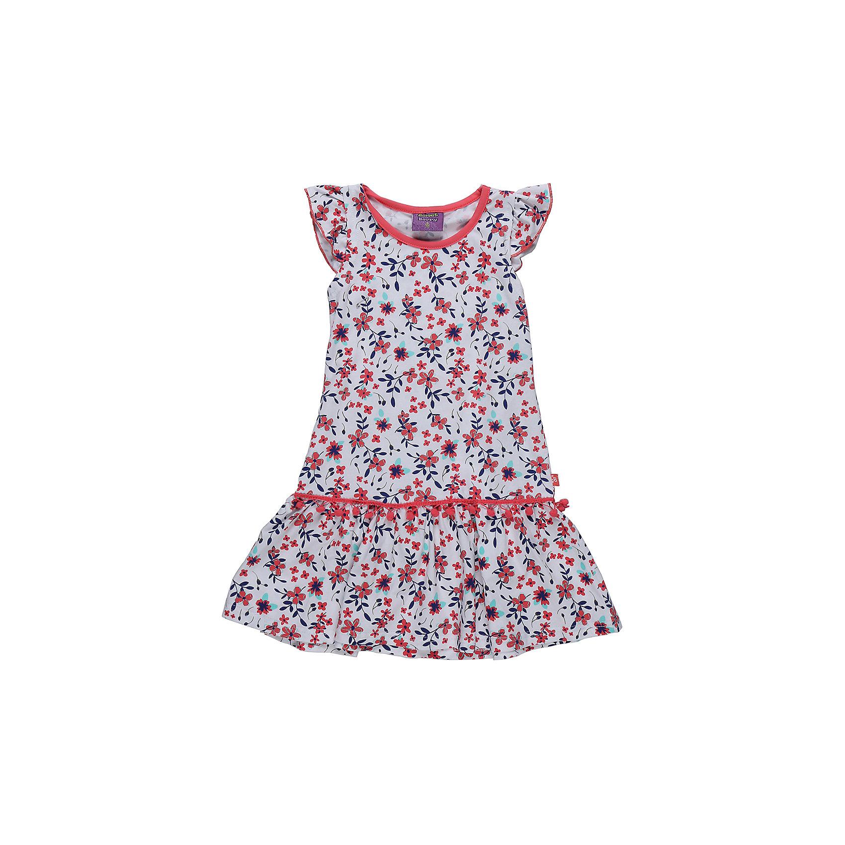 Платье для девочки Sweet BerryПлатье из трикотажной принтованной ткани. Рукава-крылышки. Горловина выполнена из контрастной ткани.<br>Состав:<br>95%хлопок 5%эластан<br><br>Ширина мм: 236<br>Глубина мм: 16<br>Высота мм: 184<br>Вес г: 177<br>Цвет: разноцветный<br>Возраст от месяцев: 36<br>Возраст до месяцев: 48<br>Пол: Женский<br>Возраст: Детский<br>Размер: 104,98,110,116,122,128<br>SKU: 5412212