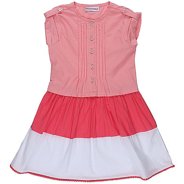 Платье для девочки Sweet BerryЛетние платья и сарафаны<br>Хлопковое платье для девочки из комбинированной ткани. Декорированно контрастной отделкой по низу изделия и плетеным кружевом. Застегивается на пуговки.<br>Состав:<br>100% хлопок<br><br>Ширина мм: 236<br>Глубина мм: 16<br>Высота мм: 184<br>Вес г: 177<br>Цвет: оранжевый<br>Возраст от месяцев: 24<br>Возраст до месяцев: 36<br>Пол: Женский<br>Возраст: Детский<br>Размер: 98,104,128,122,116,110<br>SKU: 5412219