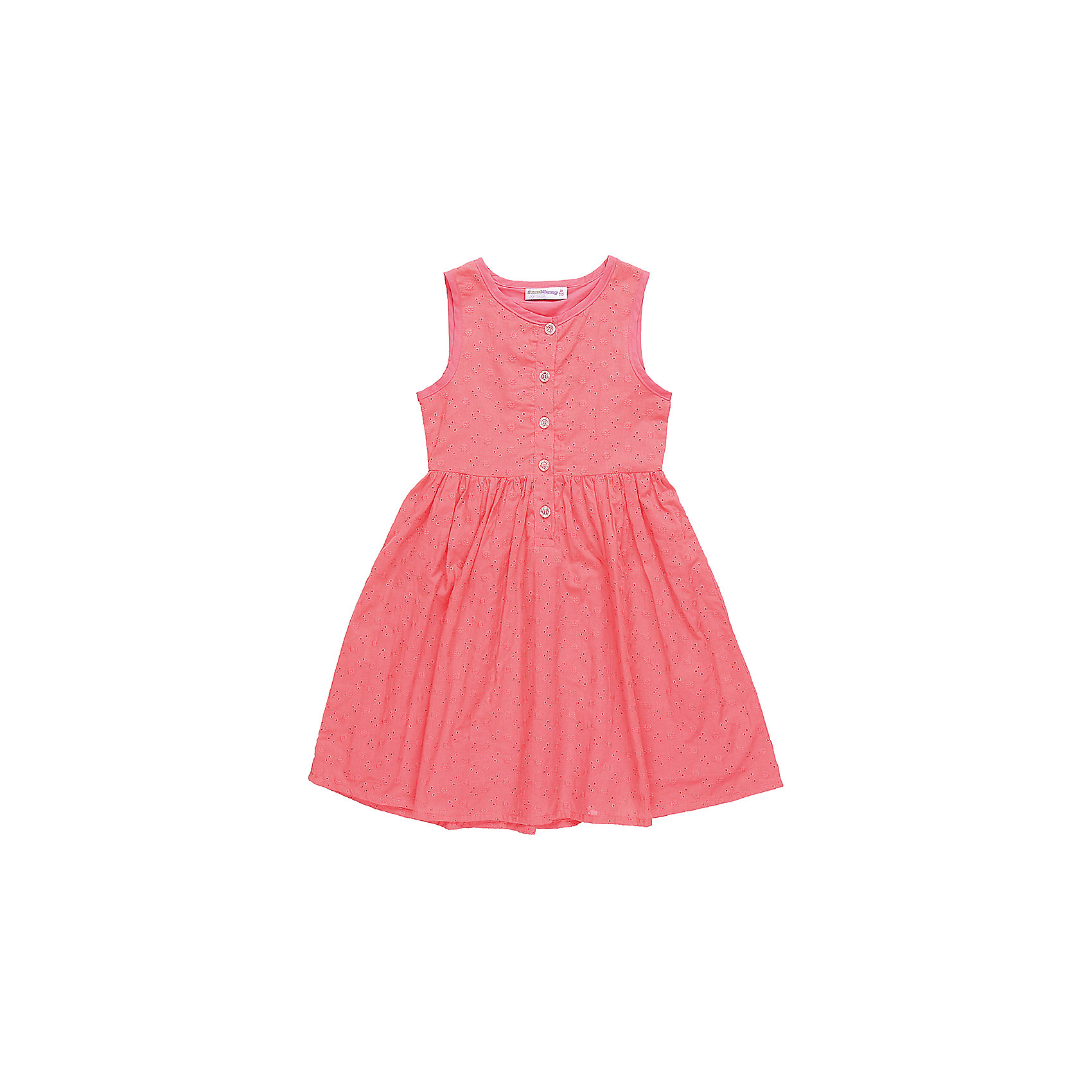 Платье для девочки Sweet BerryЛетние платья и сарафаны<br>Текстильное платье из хлопка для девочки без рукавов. Приталенный крой. Застегивается на пуговки.<br>Состав:<br>Верх: 100% хлопок, Подкладка: 100%хлопок<br><br>Ширина мм: 236<br>Глубина мм: 16<br>Высота мм: 184<br>Вес г: 177<br>Цвет: розовый<br>Возраст от месяцев: 72<br>Возраст до месяцев: 84<br>Пол: Женский<br>Возраст: Детский<br>Размер: 122,128,104,110,98,116<br>SKU: 5412237