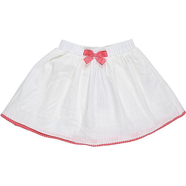 Юбка для девочки Sweet BerryЮбки<br>Текстильная юбочка для девочки с контрастной отделкой пояса и кружевным плетением по низу изделия. Эластичный мягкий пояс.<br>Состав:<br>Верх: 100% хлопок, Подкладка: 100%хлопок<br>Ширина мм: 207; Глубина мм: 10; Высота мм: 189; Вес г: 183; Цвет: белый; Возраст от месяцев: 24; Возраст до месяцев: 36; Пол: Женский; Возраст: Детский; Размер: 98,104,128,122,116,110; SKU: 5412329;