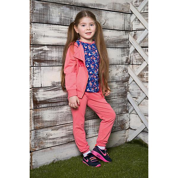 Спортивный костюм для девочки Sweet BerryКомплекты<br>Спортивный трикотажный костюм для девочки.  Куртка застегивается на косую молнию и декорирована бархатной аппликацией. Брюки спортивного стиля с зауженным низом собранные на мягкую резинку. Пояс-резинка дополнен шнуром для регулирования объема.<br>Состав:<br>95%хлопок 5%эластан<br><br>Ширина мм: 247<br>Глубина мм: 16<br>Высота мм: 140<br>Вес г: 225<br>Цвет: розовый<br>Возраст от месяцев: 72<br>Возраст до месяцев: 84<br>Пол: Женский<br>Возраст: Детский<br>Размер: 122,110,128,104,116,98<br>SKU: 5412336
