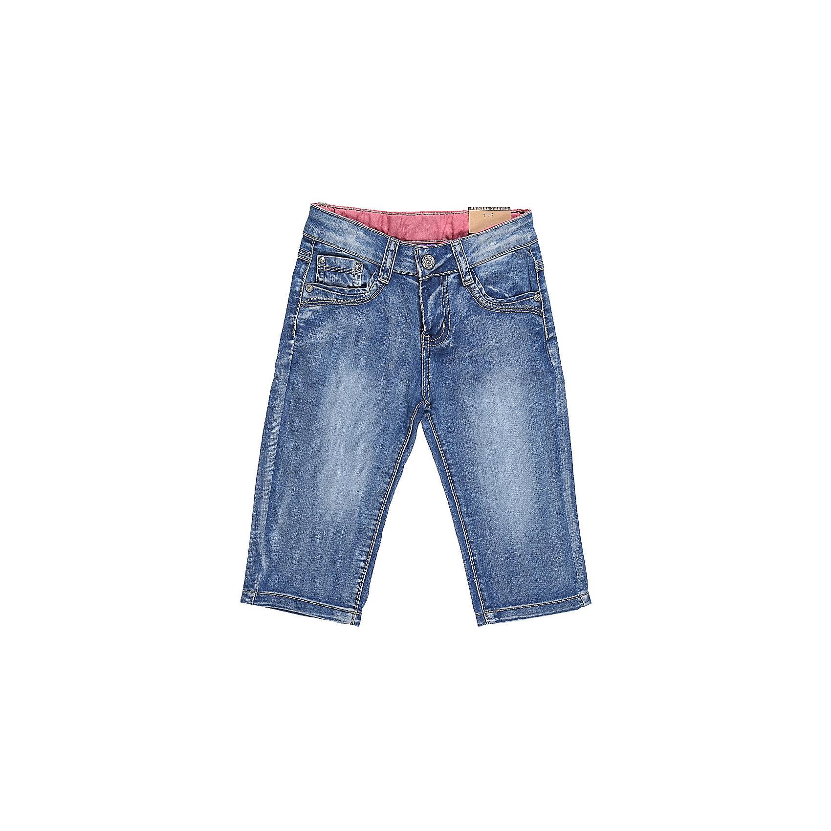 Бриджи джинсовые для девочки Sweet BerryШорты, бриджи, капри<br>Стильные джинсовые бриджи для девочки. Застегиваются на молнию и пуговицу. Имеют зауженный крой, среднюю посадку. Шлевки на поясе рассчитаны под ремень. В боковой части пояса находятся вшитые эластичные ленты, регулирующие посадку по талии.<br>Состав:<br>98%хлопок 2%эластан<br><br>Ширина мм: 191<br>Глубина мм: 10<br>Высота мм: 175<br>Вес г: 273<br>Цвет: синий<br>Возраст от месяцев: 36<br>Возраст до месяцев: 48<br>Пол: Женский<br>Возраст: Детский<br>Размер: 104,98,110,116,122,128<br>SKU: 5412361