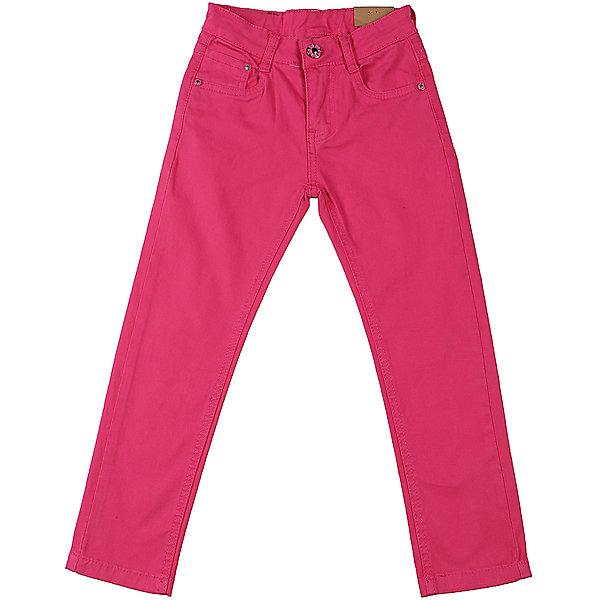 Брюки для девочки Sweet BerryБрюки<br>Джинсовые брюки для девочки модного цвета.  Зауженный крой. Застегиваются на молнию и пуговицу. Шлевки на поясе рассчитаны под ремень. В боковой части пояса находятся вшитые эластичные ленты, регулирующие посадку по талии.<br>Состав:<br>98%хлопок 2%эластан<br>Ширина мм: 215; Глубина мм: 88; Высота мм: 191; Вес г: 336; Цвет: лиловый; Возраст от месяцев: 24; Возраст до месяцев: 36; Пол: Женский; Возраст: Детский; Размер: 98,104,128,122,116,110; SKU: 5412432;