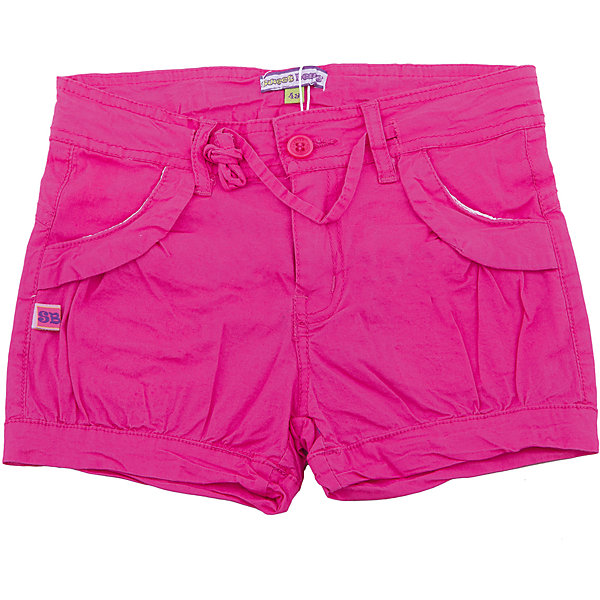 Шорты для девочки Sweet BerryШорты, бриджи, капри<br>Шорты ярко-розового цвета из хлопковой ткани для девочки.   Пояс дополнен шнуром для регулирования объема. Два внутренних свободных кармана.<br>Состав:<br>хлопок 95%, спандекс 5%<br><br>Ширина мм: 191<br>Глубина мм: 10<br>Высота мм: 175<br>Вес г: 273<br>Цвет: розовый<br>Возраст от месяцев: 84<br>Возраст до месяцев: 96<br>Пол: Женский<br>Возраст: Детский<br>Размер: 128,122,116,110,98,104<br>SKU: 5412499