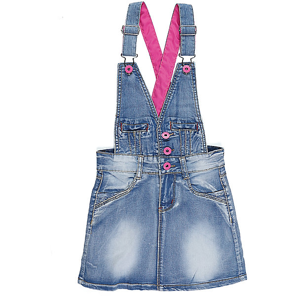 Сарафан джинсовый для девочки Sweet BerryДжинсовая одежда<br>Модный джинсовый сарафан для девочки.  Декорирован яркими стильными пуговицами и контрастными лямками. Два боковых кармана. Регулируемые бретели.<br>Состав:<br>98%хлопок 2%эластан<br><br>Ширина мм: 236<br>Глубина мм: 16<br>Высота мм: 184<br>Вес г: 177<br>Цвет: синий<br>Возраст от месяцев: 24<br>Возраст до месяцев: 36<br>Пол: Женский<br>Возраст: Детский<br>Размер: 98,104,128,122,116,110<br>SKU: 5412527