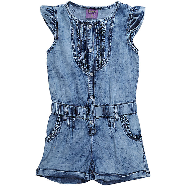 Комбинезон джинсовый для девочки Sweet BerryДжинсовая одежда<br>Комбинезон из тонкой хлопковой ткани под джинсу для девочки. Рукава крылышки. Талия собрана на мягкую резинку Застежка на кнопках.<br>Состав:<br>100%хлопок<br>Ширина мм: 215; Глубина мм: 88; Высота мм: 191; Вес г: 336; Цвет: голубой; Возраст от месяцев: 24; Возраст до месяцев: 36; Пол: Женский; Возраст: Детский; Размер: 98,104,128,122,116,110; SKU: 5412541;