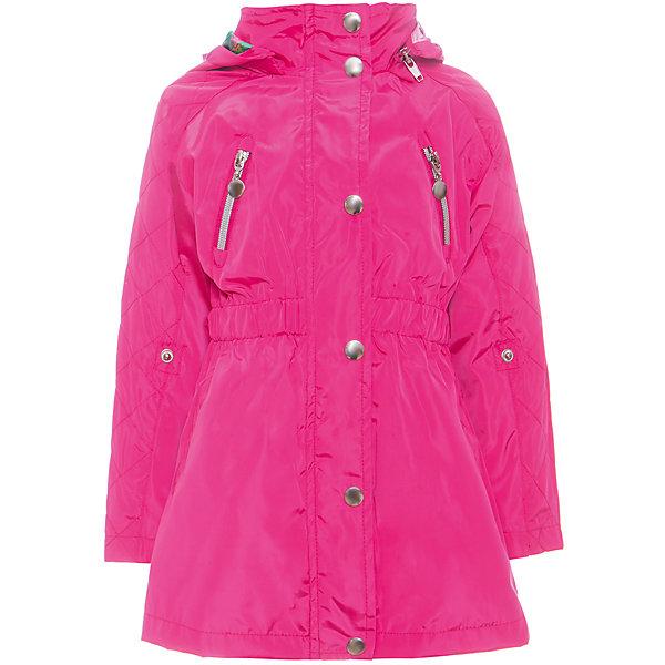 Плащ для девочки Sweet BerryВерхняя одежда<br>Яркий текстильный плащ для девочки. Отстегивающийся капюшон. Рукава - реглан с регулируемой длиной. Контрастный подклад. Талия собрана на мягкую резинку.<br>Состав:<br>Верх: 100%полиэстер. Подкладка: 65%хлопок 35%полиэстер.<br><br>Ширина мм: 356<br>Глубина мм: 10<br>Высота мм: 245<br>Вес г: 519<br>Цвет: розовый<br>Возраст от месяцев: 24<br>Возраст до месяцев: 36<br>Пол: Женский<br>Возраст: Детский<br>Размер: 104,128,122,116,110,98<br>SKU: 5412548
