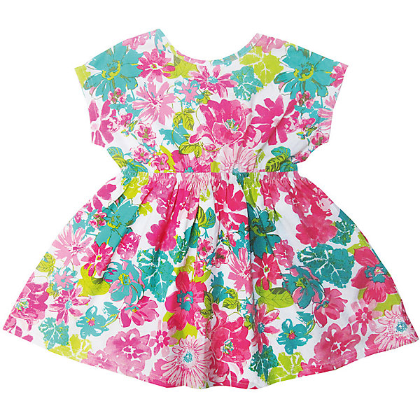 Футболка для девочки Sweet BerryФутболки, поло и топы<br>Трикотажная футболка для девочки с цветочным принтом декоратиной отделкой спинки. Короткие рукава.<br>Состав:<br>95%хлопок 5%эластан<br><br>Ширина мм: 199<br>Глубина мм: 10<br>Высота мм: 161<br>Вес г: 151<br>Цвет: белый<br>Возраст от месяцев: 24<br>Возраст до месяцев: 36<br>Пол: Женский<br>Возраст: Детский<br>Размер: 98,104,128,122,116,110<br>SKU: 5412611