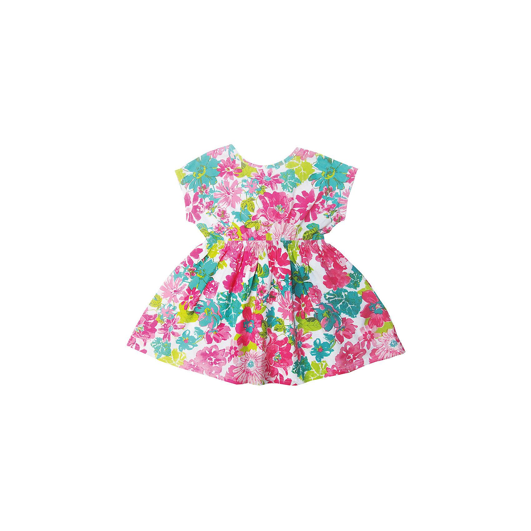 Футболка для девочки Sweet BerryФутболки, поло и топы<br>Трикотажная футболка для девочки с цветочным принтом декоратиной отделкой спинки. Короткие рукава.<br>Состав:<br>95%хлопок 5%эластан<br><br>Ширина мм: 199<br>Глубина мм: 10<br>Высота мм: 161<br>Вес г: 151<br>Цвет: разноцветный<br>Возраст от месяцев: 24<br>Возраст до месяцев: 36<br>Пол: Женский<br>Возраст: Детский<br>Размер: 98,104,128,122,116,110<br>SKU: 5412611