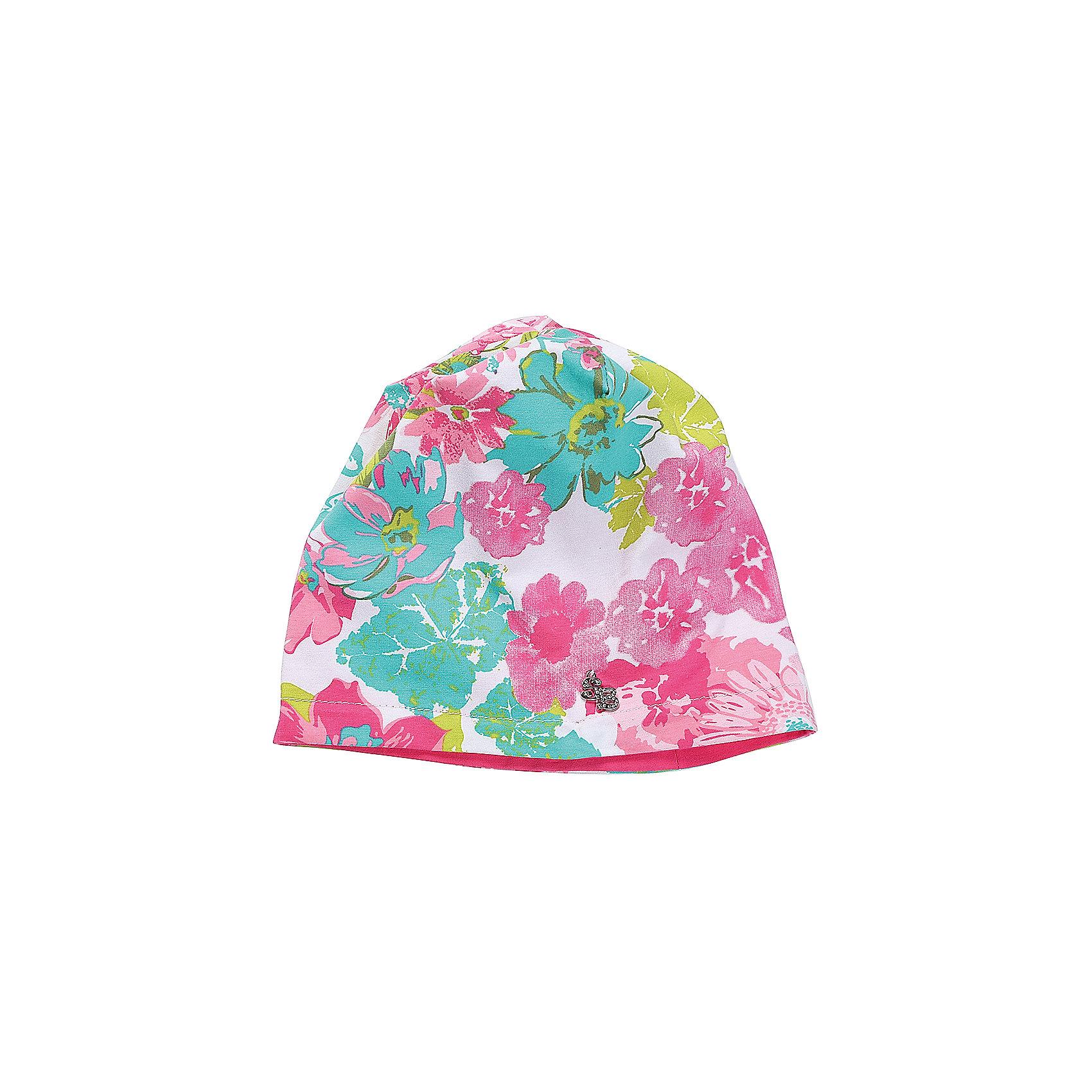 Шапка для девочки Sweet BerryДемисезонные<br>Трикотажная двухслойная шапочка для девочки из принтованной ткани.<br>Состав:<br>95%хлопок 5%эластан<br><br>Ширина мм: 89<br>Глубина мм: 117<br>Высота мм: 44<br>Вес г: 155<br>Цвет: разноцветный<br>Возраст от месяцев: 72<br>Возраст до месяцев: 84<br>Пол: Женский<br>Возраст: Детский<br>Размер: 54,50,52<br>SKU: 5412636