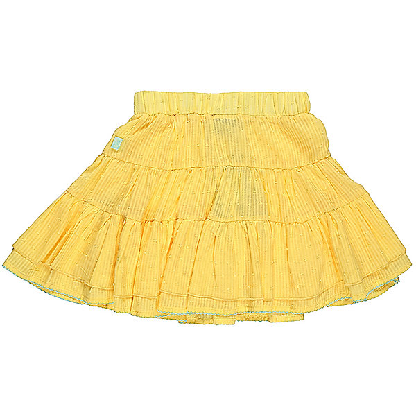 Юбка для девочки Sweet BerryЮбки<br>Трехъярусная трикотажная юбка для девочки. Декорированна контрастной ниткой по низу изделия. Эластичный пояс.<br>Состав:<br>Верх: 100% хлопок, Подкладка: 100%хлопок<br>Ширина мм: 207; Глубина мм: 10; Высота мм: 189; Вес г: 183; Цвет: желтый; Возраст от месяцев: 24; Возраст до месяцев: 36; Пол: Женский; Возраст: Детский; Размер: 98,104,128,122,116,110; SKU: 5412647;