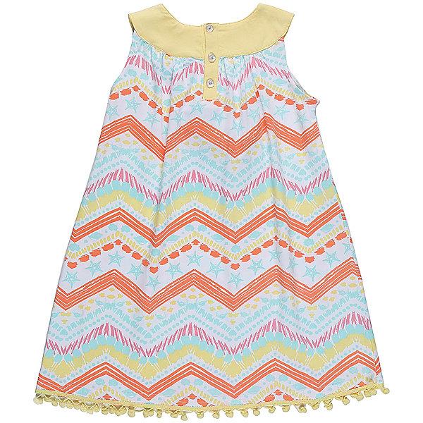 Платье для девочки Sweet BerryЛетние платья и сарафаны<br>Платье для девочки из трикотажной ткани с оригинальным принтом. Горловина декорированы контрастной тканью и цветком. Свободный крой. Застежка на пуговках на спинке.<br>Состав:<br>95%хлопок 5%эластан<br><br>Ширина мм: 236<br>Глубина мм: 16<br>Высота мм: 184<br>Вес г: 177<br>Цвет: белый<br>Возраст от месяцев: 24<br>Возраст до месяцев: 36<br>Пол: Женский<br>Возраст: Детский<br>Размер: 98,104,128,122,116,110<br>SKU: 5412808