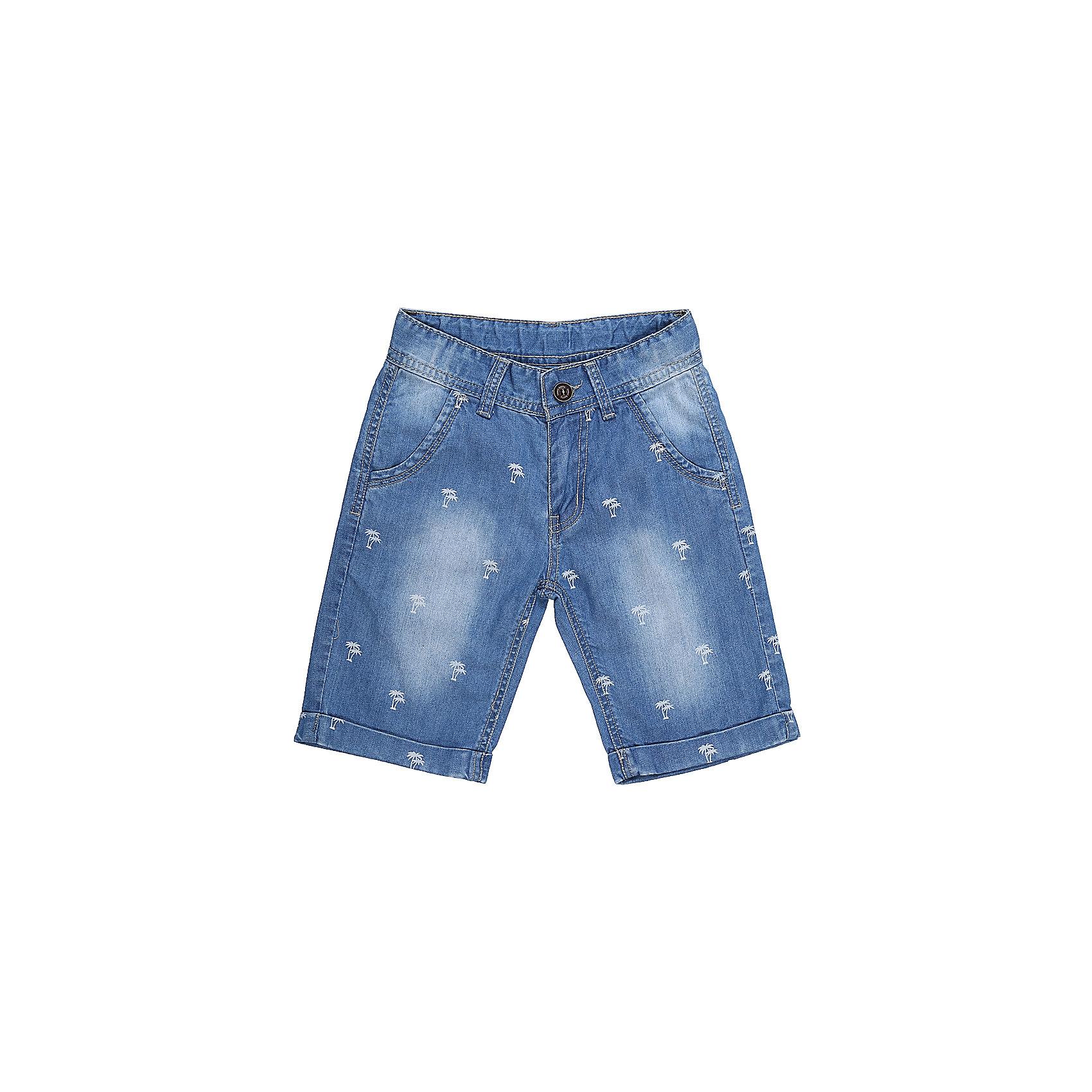 Шорты джинсовые для мальчика Sweet BerryДжинсовая одежда<br>Джинсовые шорты для мальчика  с загибом по низу изделия, Декорированые оригинальным принтом.   В боковой части пояса находятся вшитые эластичные ленты, регулирующие посадку по талии.<br>Состав:<br>100%хлопок<br><br>Ширина мм: 191<br>Глубина мм: 10<br>Высота мм: 175<br>Вес г: 273<br>Цвет: голубой<br>Возраст от месяцев: 24<br>Возраст до месяцев: 36<br>Пол: Мужской<br>Возраст: Детский<br>Размер: 98,104,110,116,122,128<br>SKU: 5412906