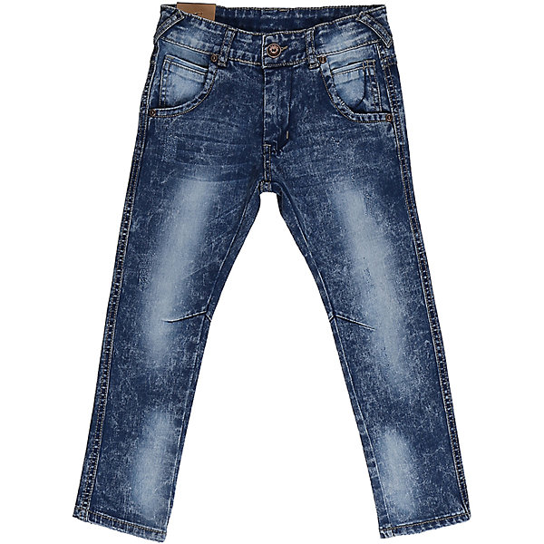 Джинсы для мальчика Sweet BerryДжинсовая одежда<br>Джинсы  для мальчика с оригинальной варкой. Зауженный крой, средняя посадка. Застегиваются на молнию и пуговицу. Шлевки на поясе рассчитаны под ремень. В боковой части пояса находятся вшитые эластичные ленты, регулирующие посадку по талии.<br>Состав:<br>98%хлопок 2%эластан<br>Ширина мм: 215; Глубина мм: 88; Высота мм: 191; Вес г: 336; Цвет: синий; Возраст от месяцев: 24; Возраст до месяцев: 36; Пол: Мужской; Возраст: Детский; Размер: 98,104,128,122,116,110; SKU: 5412913;