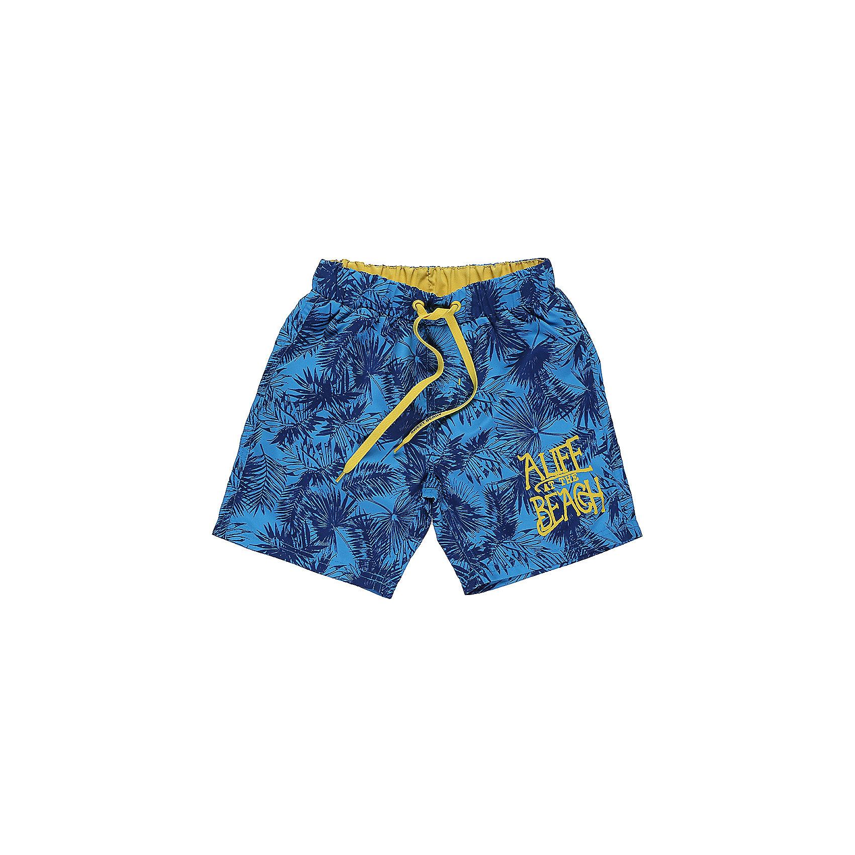 Шорты пляжные для мальчика Sweet BerryКупальные шорты для мальчика с ярким принтом выполнены из легкого быстросохнущего материала. Пояс-резинка дополнен шнуром для регулирования объема.<br>Состав:<br>100% полиэстер<br><br>Ширина мм: 191<br>Глубина мм: 10<br>Высота мм: 175<br>Вес г: 273<br>Цвет: голубой<br>Возраст от месяцев: 36<br>Возраст до месяцев: 48<br>Пол: Мужской<br>Возраст: Детский<br>Размер: 104,110,116,128,140<br>SKU: 5412951
