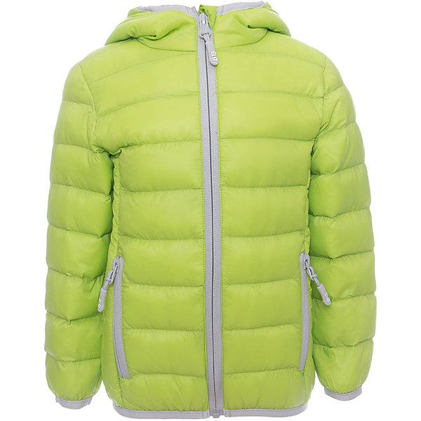 Куртка для мальчика Sweet BerryВерхняя одежда<br>Яркая стеганая куртка с несъемным капюшоном. Куртка комплектуется удобным мешочком для хранения. Карманы по бокам застегиваются на молнии и имеют резиновые пуллеры  с логотипами компании.  Ткань верха: нейлон- водонепроницаемая ткань с ветрозащитными свойствами.<br>Пoдклад: нейлон.<br>Утеплитель:  Синтепух 80 г/м?. Температурный режим от +5 С до + 15 С.<br>Состав:<br>Верх:  100% нейлон.  Подкладка: 100% нейлон. Наполнитель: 100%полиэстер<br>Ширина мм: 356; Глубина мм: 10; Высота мм: 245; Вес г: 519; Цвет: зеленый; Возраст от месяцев: 84; Возраст до месяцев: 96; Пол: Мужской; Возраст: Детский; Размер: 128,134,122,116,110,98,104,140; SKU: 5412964;