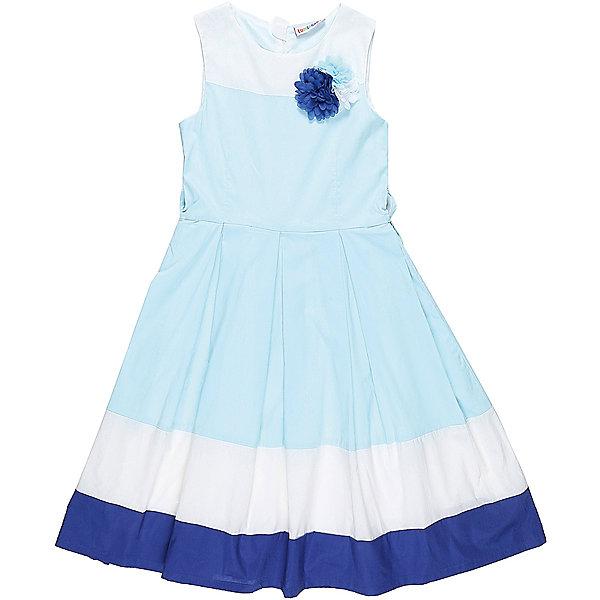 Платье для девочки LuminosoПлатья и сарафаны<br>Классическое хлопковое платье для девочки. Низ изделия декорирован контрастной тканью. Талия подчеркнута тонким пояском. Застегивается на потайную молнию на спинке. Приталенный крой.<br>Состав:<br>Верх: 100% хлопок, Подкладка: 100%хлопок<br>Ширина мм: 236; Глубина мм: 16; Высота мм: 184; Вес г: 177; Цвет: белый; Возраст от месяцев: 144; Возраст до месяцев: 156; Пол: Женский; Возраст: Детский; Размер: 158,152,164,134,140,146; SKU: 5413136;