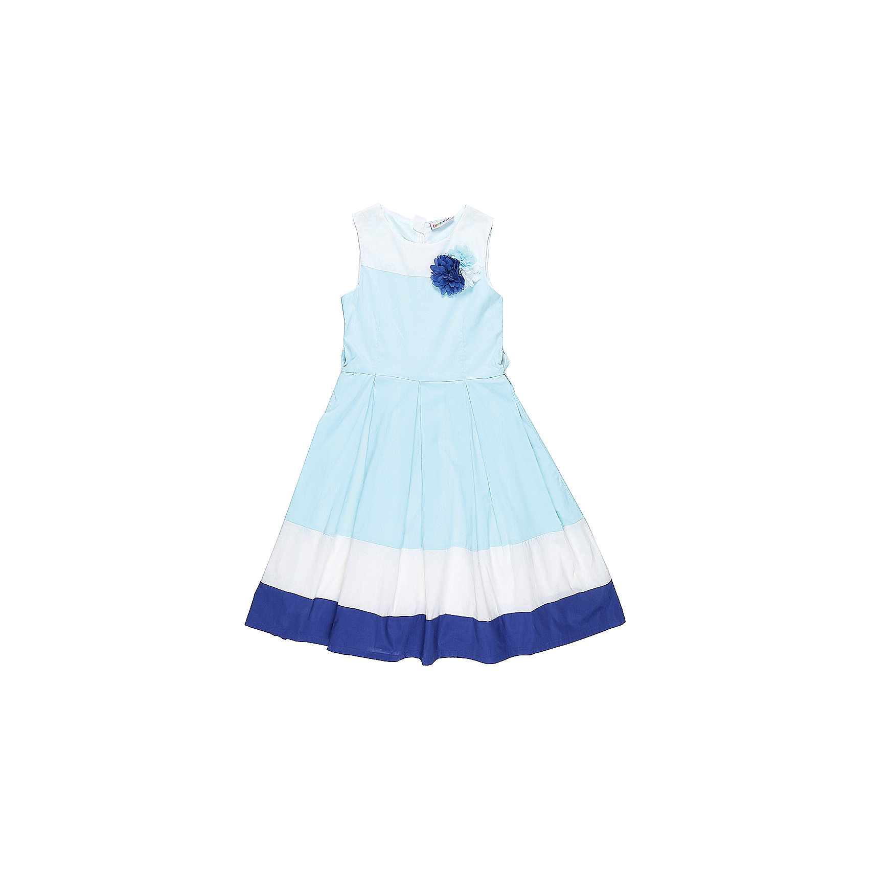 Платье для девочки LuminosoПлатья и сарафаны<br>Классическое хлопковое платье для девочки. Низ изделия декорирован контрастной тканью. Талия подчеркнута тонким пояском. Застегивается на потайную молнию на спинке. Приталенный крой.<br>Состав:<br>Верх: 100% хлопок, Подкладка: 100%хлопок<br><br>Ширина мм: 236<br>Глубина мм: 16<br>Высота мм: 184<br>Вес г: 177<br>Цвет: разноцветный<br>Возраст от месяцев: 108<br>Возраст до месяцев: 120<br>Пол: Женский<br>Возраст: Детский<br>Размер: 140,134,164,158,152,146<br>SKU: 5413136