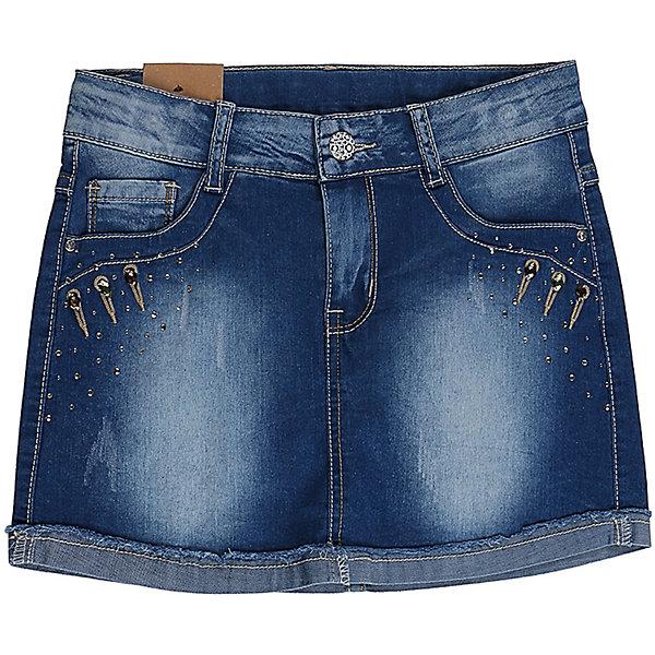 Юбка джинсовая для девочки LuminosoЮбки<br>Джинсовая юбка оригинальной варки  для девочки. Карманы Декорированы стразами. Пояс с регулировкой внутренней резинкой.<br>Состав:<br>98%хлопок 2%эластан<br>Ширина мм: 207; Глубина мм: 10; Высота мм: 189; Вес г: 183; Цвет: синий; Возраст от месяцев: 120; Возраст до месяцев: 132; Пол: Женский; Возраст: Детский; Размер: 146,152,140,134,164,158; SKU: 5413200;