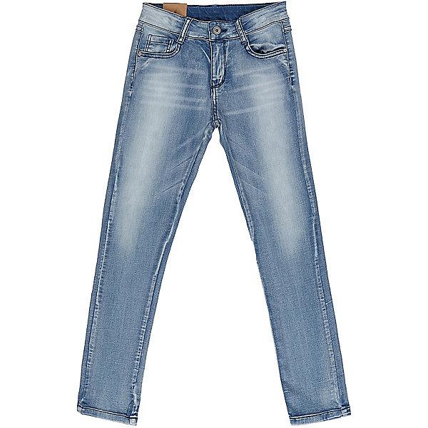 Джинсы для девочки LuminosoДжинсовая одежда<br>Джинсы  для девочки с оригинальной варкой. Имеют зауженный крой, среднюю посадку. Застегиваются на молнию и пуговицу. Шлевки на поясе рассчитаны под ремень. В боковой части пояса находятся вшитые эластичные ленты, регулирующие посадку по талии.<br>Состав:<br>98%хлопок 2%эластан<br><br>Ширина мм: 215<br>Глубина мм: 88<br>Высота мм: 191<br>Вес г: 336<br>Цвет: синий<br>Возраст от месяцев: 108<br>Возраст до месяцев: 120<br>Пол: Женский<br>Возраст: Детский<br>Размер: 140,134,164,158,152,146<br>SKU: 5413207