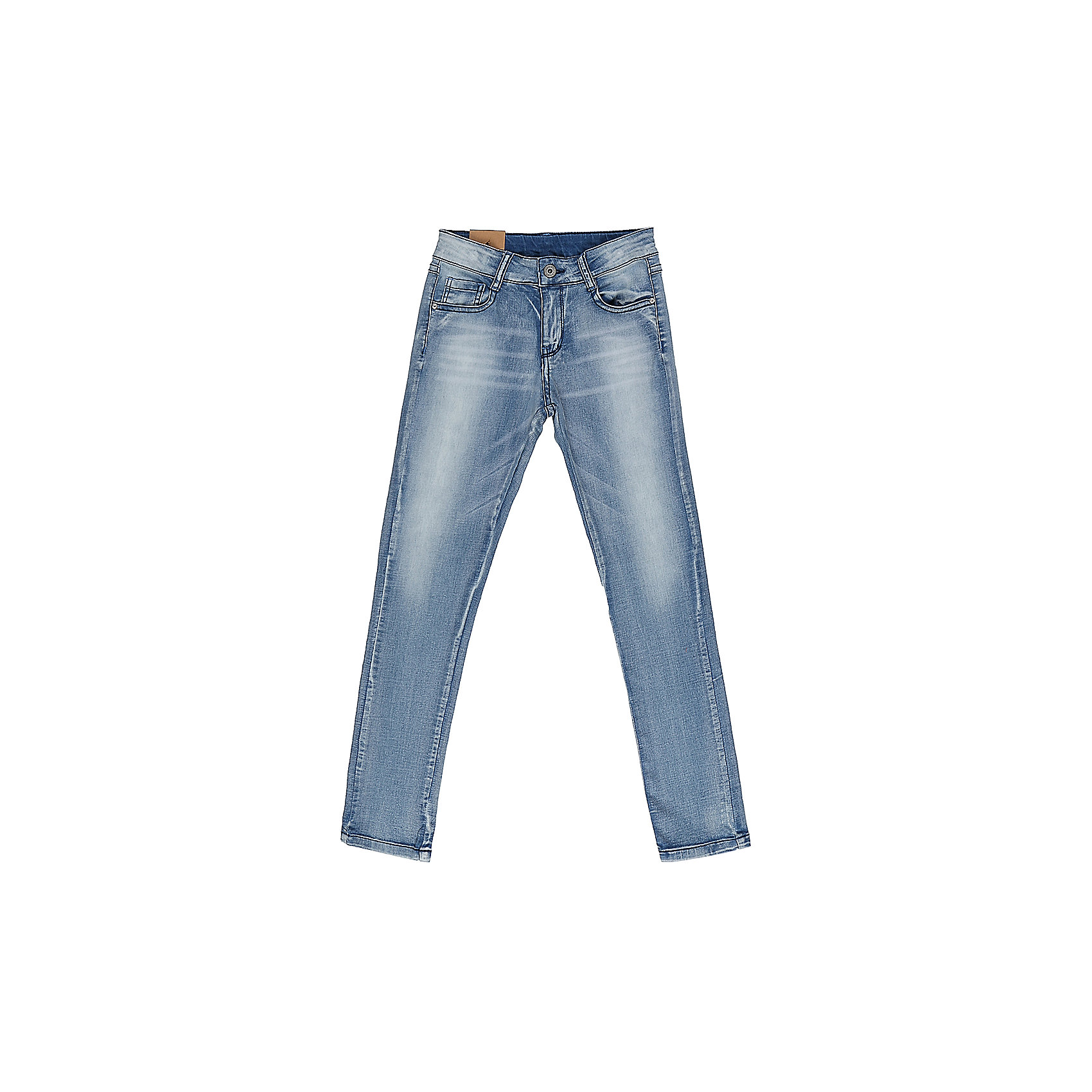 Джинсы для девочки LuminosoДжинсовая одежда<br>Джинсы  для девочки с оригинальной варкой. Имеют зауженный крой, среднюю посадку. Застегиваются на молнию и пуговицу. Шлевки на поясе рассчитаны под ремень. В боковой части пояса находятся вшитые эластичные ленты, регулирующие посадку по талии.<br>Состав:<br>98%хлопок 2%эластан<br><br>Ширина мм: 215<br>Глубина мм: 88<br>Высота мм: 191<br>Вес г: 336<br>Цвет: синий<br>Возраст от месяцев: 108<br>Возраст до месяцев: 120<br>Пол: Женский<br>Возраст: Детский<br>Размер: 140,146,152,158,164,134<br>SKU: 5413207