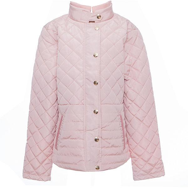 Куртка для девочки LuminosoВерхняя одежда<br>Стильная, стеганая куртка для девочки с воротником-стойкой и ветрозащитной планкой. Два прорезных карманы. Застегивается на молнию.<br>Состав:<br>Верх: 100%полиэстер.  Подкладка: 100%полиэстер. Наполнитель: 100%полиэстер<br><br>Ширина мм: 356<br>Глубина мм: 10<br>Высота мм: 245<br>Вес г: 519<br>Цвет: розовый<br>Возраст от месяцев: 132<br>Возраст до месяцев: 144<br>Пол: Женский<br>Возраст: Детский<br>Размер: 152,134,140,146,158,164<br>SKU: 5413228