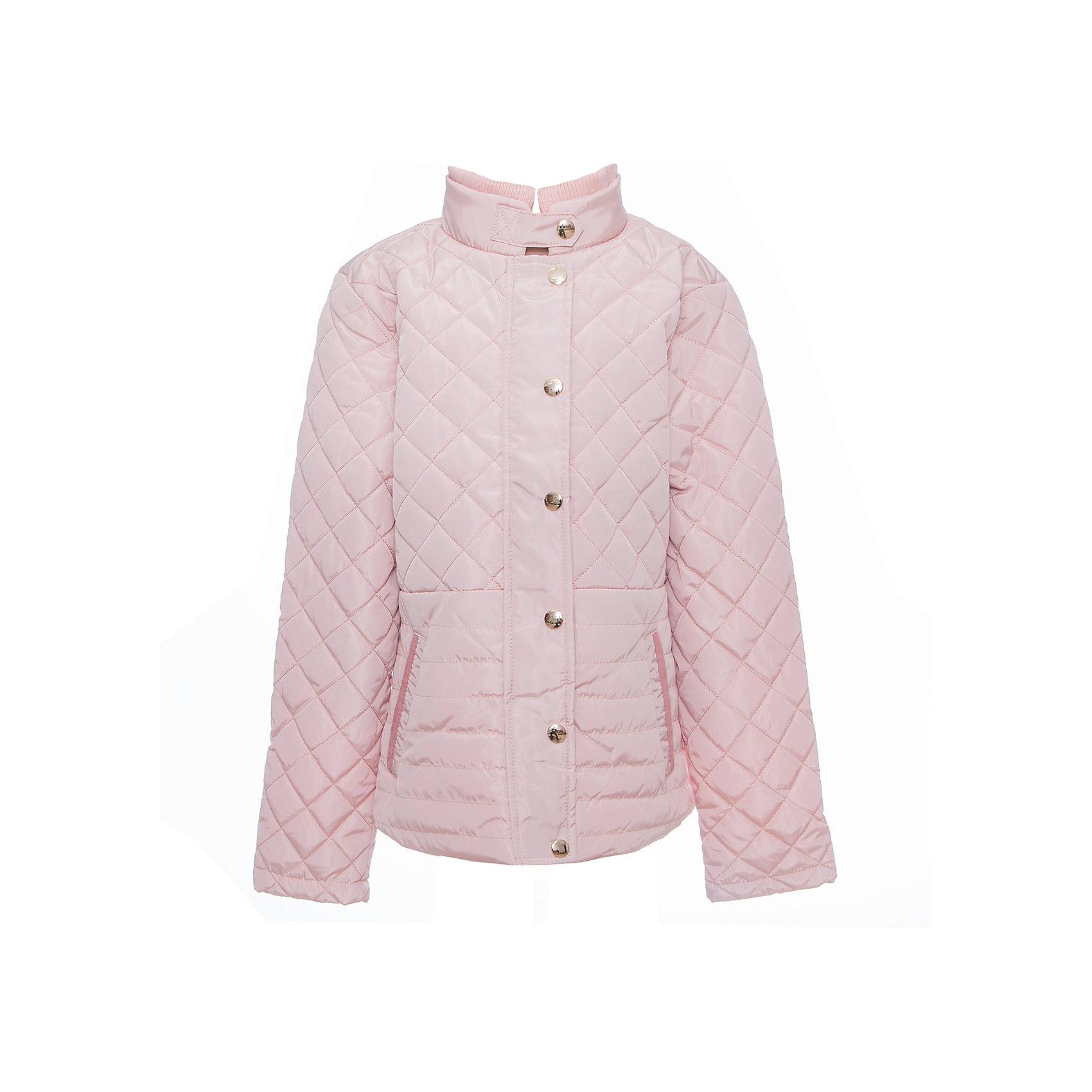 Куртка для девочки LuminosoВерхняя одежда<br>Стильная, стеганая куртка для девочки с воротником-стойкой и ветрозащитной планкой. Два прорезных карманы. Застегивается на молнию.<br>Состав:<br>Верх: 100%полиэстер.  Подкладка: 100%полиэстер. Наполнитель: 100%полиэстер<br><br>Ширина мм: 356<br>Глубина мм: 10<br>Высота мм: 245<br>Вес г: 519<br>Цвет: розовый<br>Возраст от месяцев: 108<br>Возраст до месяцев: 120<br>Пол: Женский<br>Возраст: Детский<br>Размер: 140,134,146,152,158,164<br>SKU: 5413228
