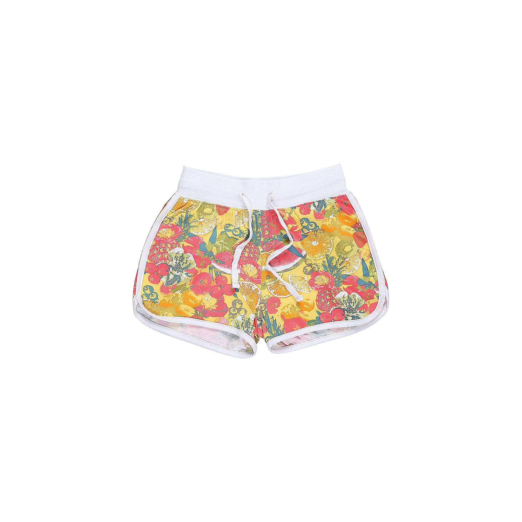 Шорты для девочки LuminosoШорты, бриджи, капри<br>Мякие, трикотажные шорты для девочки из принтованной ткани.  Пояс-резинка дополнен шнуром для регулирования объема.<br>Состав:<br>95%хлопок 5%эластан<br><br>Ширина мм: 191<br>Глубина мм: 10<br>Высота мм: 175<br>Вес г: 273<br>Цвет: белый<br>Возраст от месяцев: 132<br>Возраст до месяцев: 144<br>Пол: Женский<br>Возраст: Детский<br>Размер: 152,134,140,146,158,164<br>SKU: 5413249