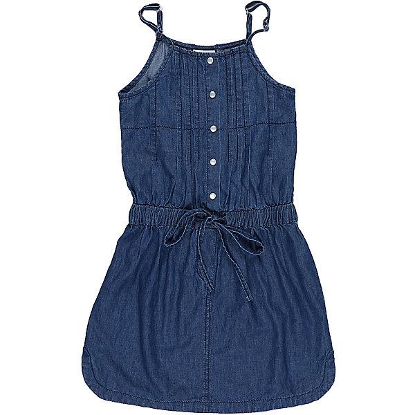 Сарафан джинсовый для девочки LuminosoДжинсовая одежда<br>Текстильный сарафан для девочки из тонкой хлопковой ткани под джинсу на регулируемых бретелях.<br>Состав:<br>100%хлопок<br>Ширина мм: 236; Глубина мм: 16; Высота мм: 184; Вес г: 177; Цвет: синий; Возраст от месяцев: 96; Возраст до месяцев: 108; Пол: Женский; Возраст: Детский; Размер: 134,140,146,152,158,164; SKU: 5413452;