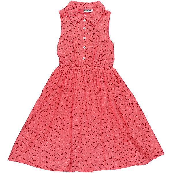Платье для девочки LuminosoПлатья и сарафаны<br>Хлопкое платье для девочки из вышитого полотна с отложным воротничком. Декорирован пуговками. Приталенный крой.<br>Состав:<br>Верх: 100% хлопок, Подкладка: 100%хлопок<br><br>Ширина мм: 236<br>Глубина мм: 16<br>Высота мм: 184<br>Вес г: 177<br>Цвет: красный<br>Возраст от месяцев: 156<br>Возраст до месяцев: 168<br>Пол: Женский<br>Возраст: Детский<br>Размер: 134,164,158,152,146,140<br>SKU: 5413550