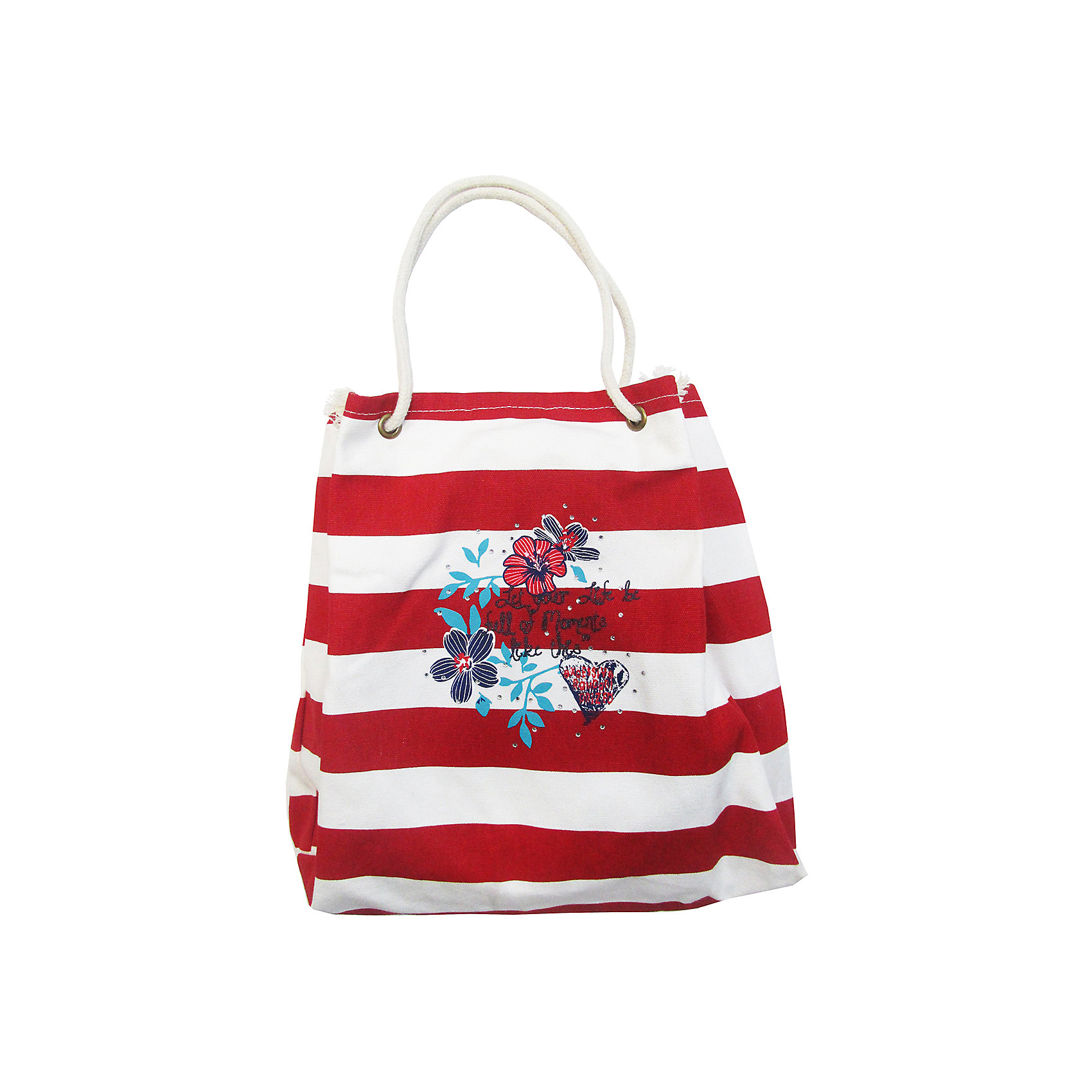 Сумка для девочки LuminosoАксессуары<br>Текстильная сумка для девочки в полоску декорированная цветочным принтом.<br>Состав:<br>100%хлопок,подкладка 100% полиэстер<br><br>Ширина мм: 170<br>Глубина мм: 157<br>Высота мм: 135<br>Вес г: 117<br>Цвет: белый<br>Возраст от месяцев: 24<br>Возраст до месяцев: 144<br>Пол: Женский<br>Возраст: Детский<br>Размер: one size<br>SKU: 5413557