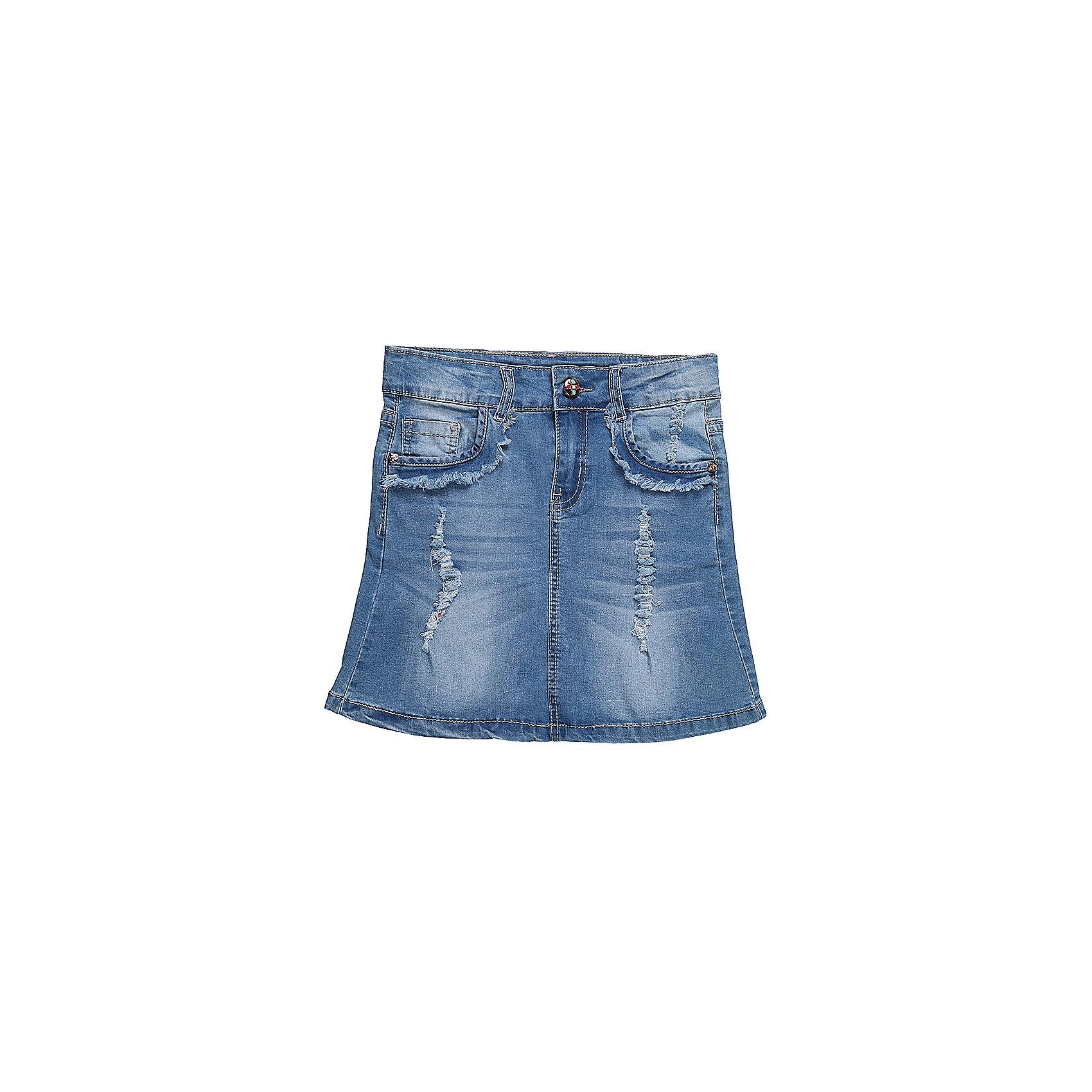 Юбка джинсовая для девочки LuminosoЮбки<br>Джинсовая юбка для девочки. Карманы декорированы бахрамой и эффектом рванной джинсы. Пояс с регулировкой внутренней резинкой.<br>Состав:<br>98%хлопок 2%эластан<br><br>Ширина мм: 207<br>Глубина мм: 10<br>Высота мм: 189<br>Вес г: 183<br>Цвет: синий<br>Возраст от месяцев: 120<br>Возраст до месяцев: 132<br>Пол: Женский<br>Возраст: Детский<br>Размер: 146,134,152,158,164,140<br>SKU: 5413757