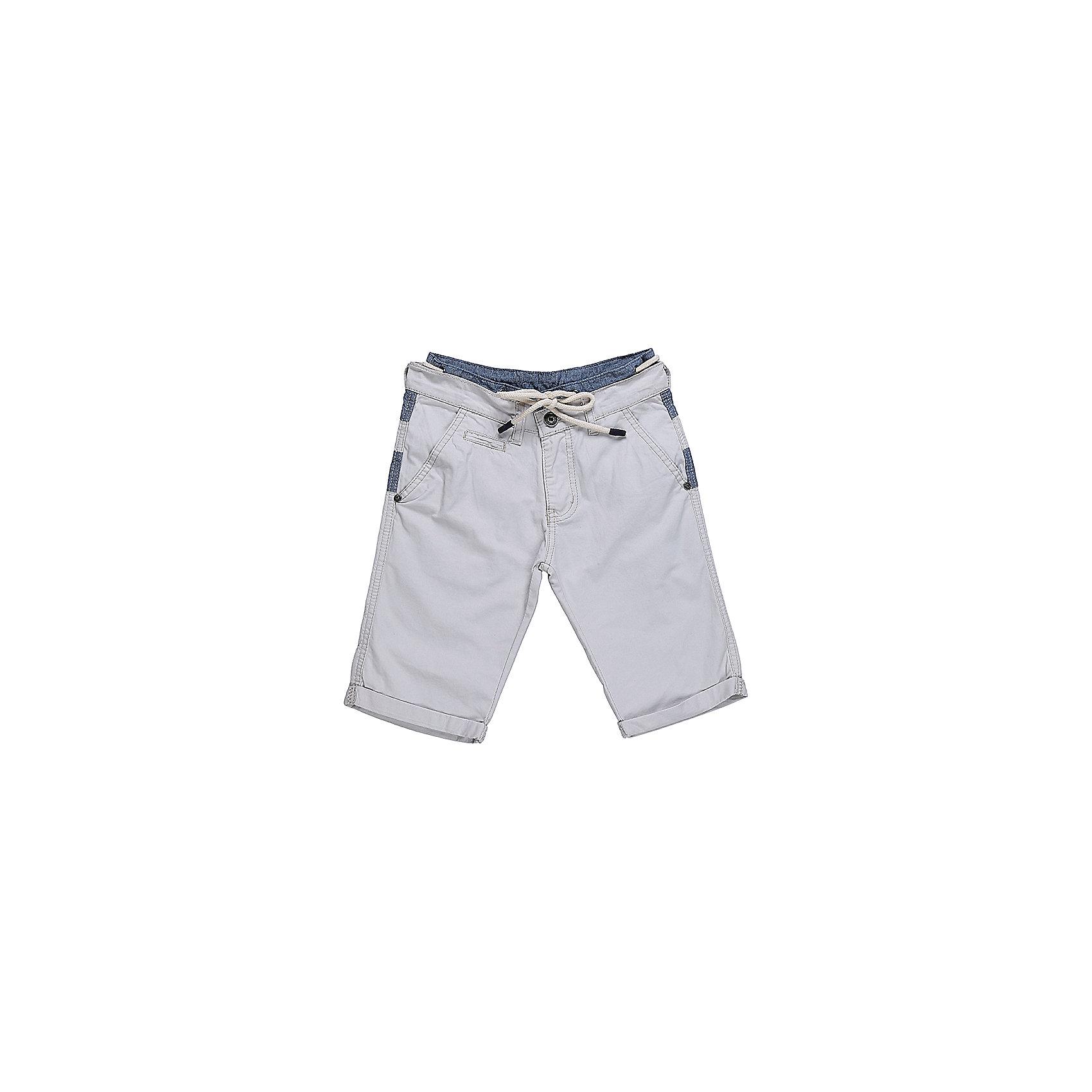 Шорты для мальчика LuminosoШорты, бриджи, капри<br>Оригинальные текстильные шорты для мальчика из комбинированной ткани. Пояс изделия декорирован шнуром. Два прорезных кармана по бокам. Застегиваются на молнию и пуговицу.  В боковой части пояса находятся вшитые эластичные ленты, регулирующие посадку по талии.<br>Состав:<br>100%хлопок<br><br>Ширина мм: 191<br>Глубина мм: 10<br>Высота мм: 175<br>Вес г: 273<br>Цвет: бежевый<br>Возраст от месяцев: 96<br>Возраст до месяцев: 108<br>Пол: Мужской<br>Возраст: Детский<br>Размер: 134,146,140,152,158,164<br>SKU: 5413767