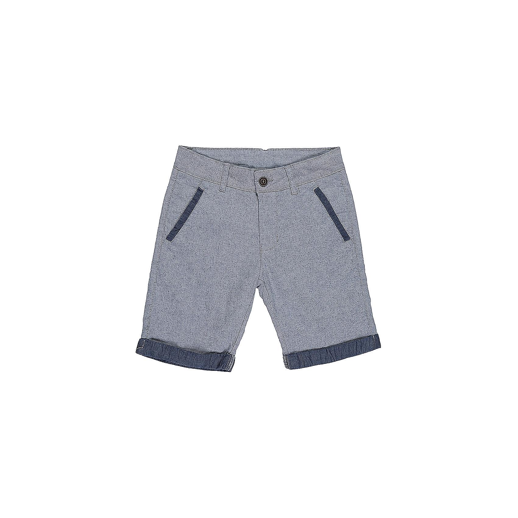 Шорты для мальчика LuminosoШорты, бриджи, капри<br>Текстильные шорты для мальчика с подворотом. Два прорезных кармана по бокам. Застегиваются на молнию и пуговицу.  В боковой части пояса находятся вшитые эластичные ленты, регулирующие посадку по талии.<br>Состав:<br>98%хлопок 2%эластан<br><br>Ширина мм: 191<br>Глубина мм: 10<br>Высота мм: 175<br>Вес г: 273<br>Цвет: голубой<br>Возраст от месяцев: 96<br>Возраст до месяцев: 108<br>Пол: Мужской<br>Возраст: Детский<br>Размер: 134,140,146,152,158,164<br>SKU: 5413781