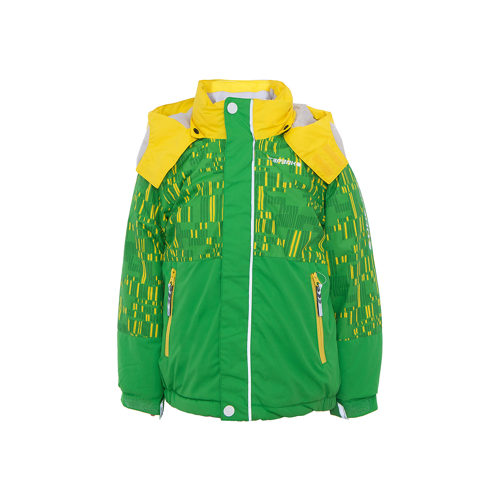 Куртка для мальчика ICEPEAKКуртка для мальчика от известного бренда ICEPEAK.<br>Куртка с отстегивающимся капюшоном, принт, молния закрыта планкой, сформированный локоть, утяжка в нижней части куртки, регулируемый рукав на липучке, утепленные и мягкие боковые карманы на молнии, мягкий и теплый внутренний воротник, светоотражающие элементы, искусственный утеплитель Finnwad, утепление 220/200 гр., рекомендуемый температурный режим до -25 град.<br>Технологии: Icemax 5000/2000 mm, Taped seams, Children's safety, Reflectors<br>Состав:<br>100% полиэстер<br><br>Ширина мм: 356<br>Глубина мм: 10<br>Высота мм: 245<br>Вес г: 519<br>Цвет: зеленый<br>Возраст от месяцев: 72<br>Возраст до месяцев: 84<br>Пол: Мужской<br>Возраст: Детский<br>Размер: 122,104,110,116<br>SKU: 5413872