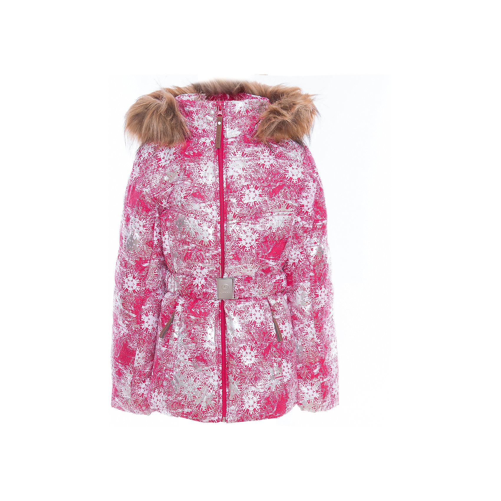 Куртка для девочки LuhtaОдежда<br>Куртка для девочки от известного бренда Luhta.<br>Куртка на поясе с отстегивающимся капюшоном, искусственный мех, принт, элегантный силуэт, боковые карманы на молнии, рукава заканчиваются эластичной резинкой, светоотражающие элементы, утепление 280 гр., искусственный утеплитель Finnwad, мембрана 2000/2000, рекомендуемый температурный режим до -30 град., термометр, показывающий температуру внутри верхней одежды.<br>Технологии: Luhta WATER REPELLENT, Luhta BREATHABLE, 2000/2000, Luhta SAFETY, Luhta TEMPERATURE CONTROL, Luhta FINNWAD, Luhta -30, Reflectors<br>Состав:<br>100% полиэстер<br><br>Ширина мм: 356<br>Глубина мм: 10<br>Высота мм: 245<br>Вес г: 519<br>Цвет: красный<br>Возраст от месяцев: 156<br>Возраст до месяцев: 168<br>Пол: Женский<br>Возраст: Детский<br>Размер: 164,134,140,146,152,158<br>SKU: 5413904