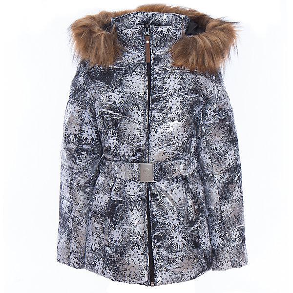 Куртка для девочки LuhtaОдежда<br>Куртка для девочки от известного бренда Luhta.<br>Куртка на поясе с отстегивающимся капюшоном, искусственный мех, принт, элегантный силуэт, боковые карманы на молнии, рукава заканчиваются эластичной резинкой, светоотражающие элементы, утепление 280 гр., искусственный утеплитель Finnwad, мембрана 2000/2000, рекомендуемый температурный режим до -20 град., термометр, показывающий температуру внутри верхней одежды.<br>Технологии: Luhta WATER REPELLENT, Luhta BREATHABLE, 2000/2000, Luhta SAFETY, Luhta TEMPERATURE CONTROL, Luhta FINNWAD, Luhta -20, Reflectors<br>Состав:<br>100% полиэстер<br><br>Ширина мм: 356<br>Глубина мм: 10<br>Высота мм: 245<br>Вес г: 519<br>Цвет: серый<br>Возраст от месяцев: 84<br>Возраст до месяцев: 96<br>Пол: Женский<br>Возраст: Детский<br>Размер: 128,164,158,152,146,140,134<br>SKU: 5413911