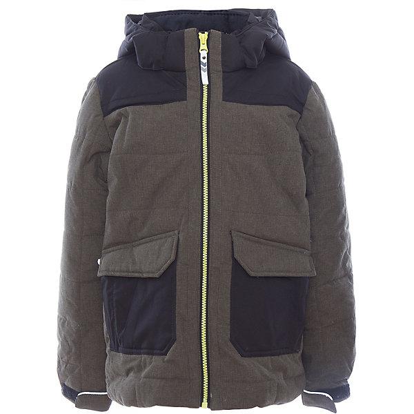 Куртка для мальчика ICEPEAKОдежда<br>Куртка для мальчика от известного бренда ICEPEAK.<br>Куртка с отстегивающимся капюшоном, материал куртки состоит из двух типов ткани: карманы и плечевая часть и капюшон -однотонная ткань, остальная часть куртки -ткань меланж, сформированный локоть, утяжка в нижней части куртки, регулируемый манжет на липучке, карман в левой части куртки на молнии, утепленные и мягкие боковые карманы на молнии, мягкий и теплый внутренний воротник, светоотражающие элементы, искусственный утеплитель Finnwad, утепление 220/220 гр., рекомендуемый температурный режим до -30 град.,Icetech 3 000/3000, 2-layer, Children's safety, Reflectors<br>Состав:<br>100% полиэстер<br>Ширина мм: 356; Глубина мм: 10; Высота мм: 245; Вес г: 519; Цвет: зеленый; Возраст от месяцев: 84; Возраст до месяцев: 96; Пол: Мужской; Возраст: Детский; Размер: 176,164,140,128; SKU: 5413926;