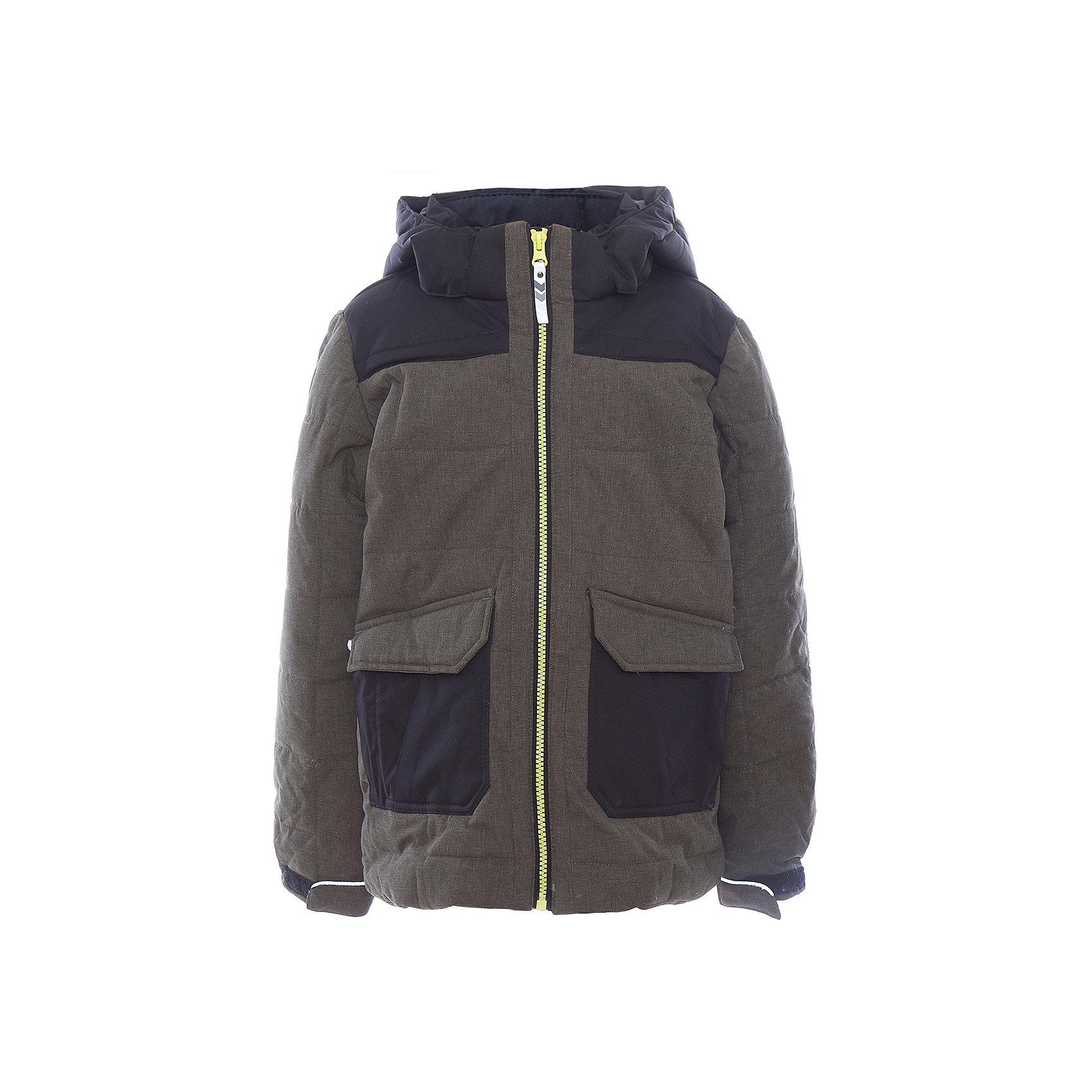 Куртка для мальчика ICEPEAKОдежда<br>Куртка для мальчика от известного бренда ICEPEAK.<br>Куртка с отстегивающимся капюшоном, материал куртки состоит из двух типов ткани: карманы и плечевая часть и капюшон -однотонная ткань, остальная часть куртки -ткань меланж, сформированный локоть, утяжка в нижней части куртки, регулируемый манжет на липучке, карман в левой части куртки на молнии, утепленные и мягкие боковые карманы на молнии, мягкий и теплый внутренний воротник, светоотражающие элементы, искусственный утеплитель Finnwad, утепление 220/220 гр., рекомендуемый температурный режим до -30 град.,Icetech 3 000/3000, 2-layer, Children's safety, Reflectors<br>Состав:<br>100% полиэстер<br><br>Ширина мм: 356<br>Глубина мм: 10<br>Высота мм: 245<br>Вес г: 519<br>Цвет: зеленый<br>Возраст от месяцев: 180<br>Возраст до месяцев: 192<br>Пол: Мужской<br>Возраст: Детский<br>Размер: 176,128,140,164<br>SKU: 5413926
