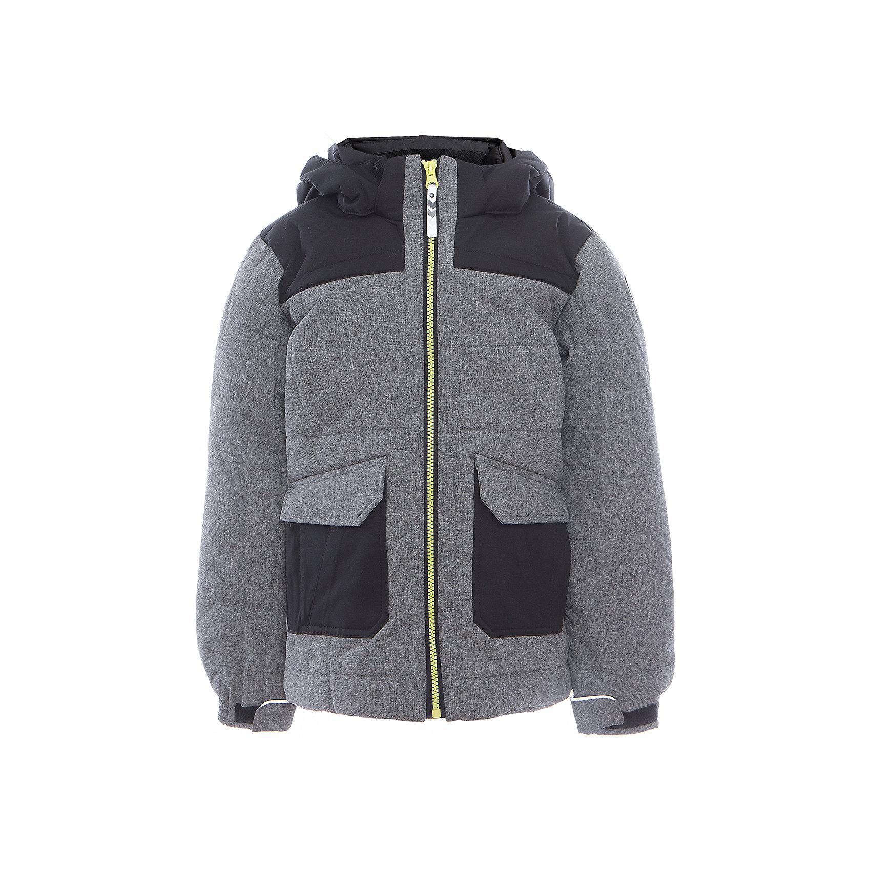 Куртка для мальчика ICEPEAKОдежда<br>Куртка для мальчика от известного бренда ICEPEAK.<br>Куртка с отстегивающимся капюшоном, материал куртки состоит из двух типов ткани: карманы и плечевая часть и капюшон -однотонная ткань, остальная часть куртки -ткань меланж, сформированный локоть, утяжка в нижней части куртки, регулируемый манжет на липучке, карман в левой части куртки на молнии, утепленные и мягкие боковые карманы на молнии, мягкий и теплый внутренний воротник, светоотражающие элементы, искусственный утеплитель Finnwad, утепление 220/220 гр., рекомендуемый температурный режим до -30 град.,Icetech 3 000/3000, 2-layer, Children's safety, Reflectors<br>Состав:<br>100% полиэстер<br><br>Ширина мм: 356<br>Глубина мм: 10<br>Высота мм: 245<br>Вес г: 519<br>Цвет: серый<br>Возраст от месяцев: 84<br>Возраст до месяцев: 96<br>Пол: Мужской<br>Возраст: Детский<br>Размер: 128,176,164,140<br>SKU: 5413931
