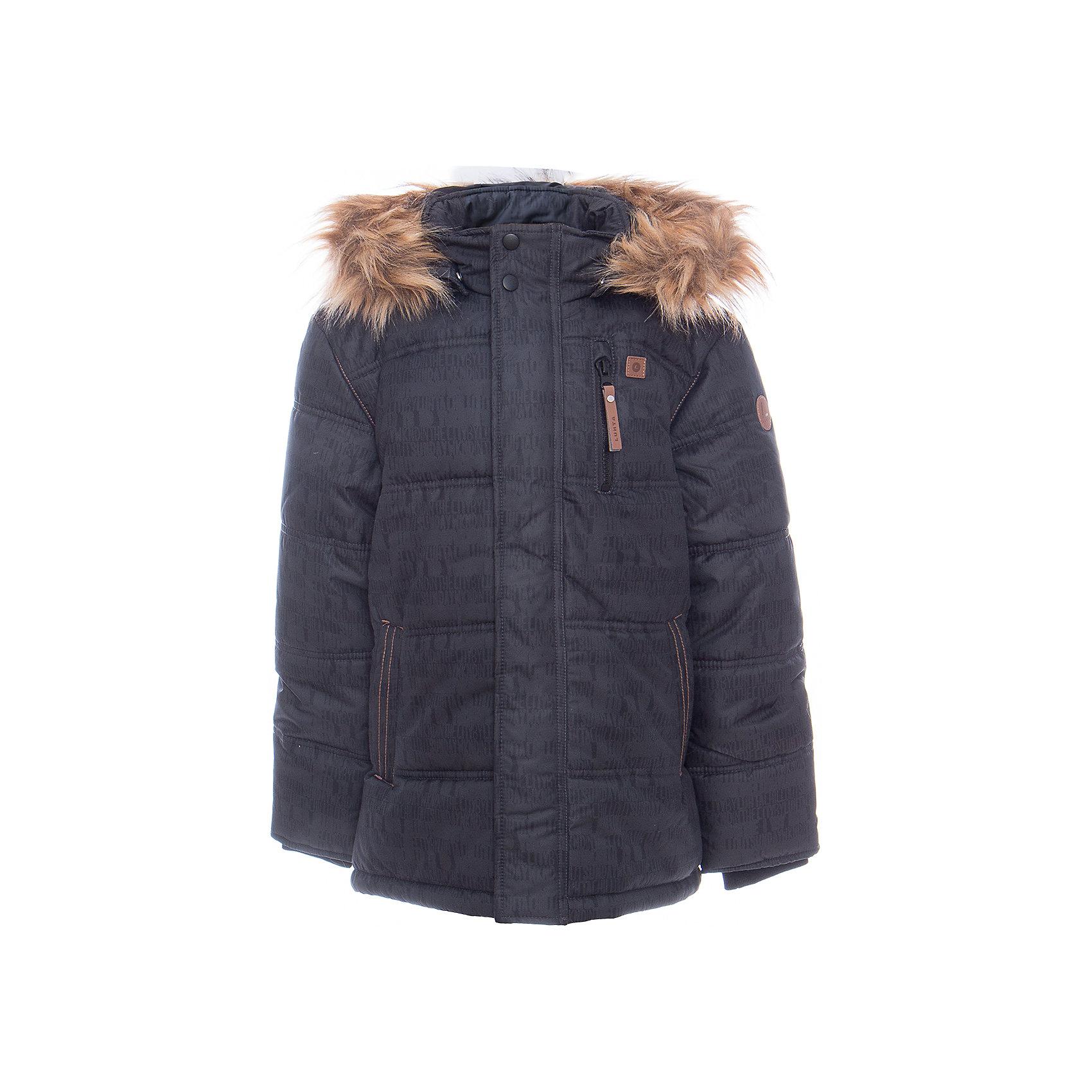 Куртка для мальчика LuhtaКуртка для мальчика от известного бренда Luhta.<br>Куртка с отстегивающимся капюшоном, искусственный мех, принт, в рукавах вязанные манжеты, утяжка в нижней части куртки, теплые карманы на молнии, светоотражающие элементы, утепление 280 гр. рекомендуемый температурный режим до -30 град., термометр, показывающий температуру внутри верхней одежды.<br>Технологии: Luhta WATER REPELLENT; Luhta BREATHABLE; 2000/2000; Luhta DIRT REPELLENT; Luhta SAFETY; Luhta FINNWAD; Luhta -30<br>Состав:<br>100% полиэстер<br><br>Ширина мм: 356<br>Глубина мм: 10<br>Высота мм: 245<br>Вес г: 519<br>Цвет: синий<br>Возраст от месяцев: 144<br>Возраст до месяцев: 156<br>Пол: Мужской<br>Возраст: Детский<br>Размер: 158,164,134,140,146,152<br>SKU: 5413940