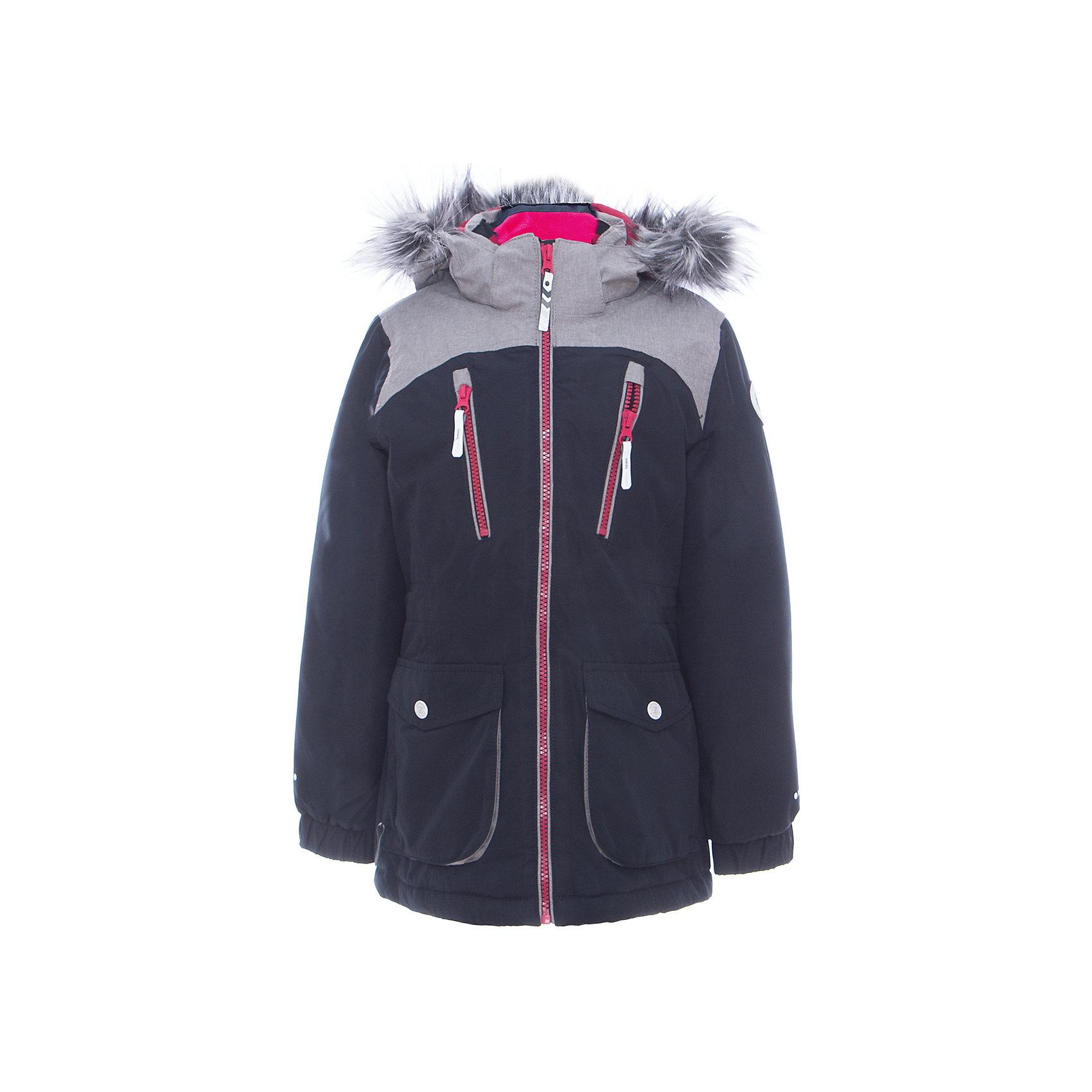 Куртка для девочки ICEPEAKОдежда<br>Куртка для девочки от известного бренда ICEPEAK.<br>Куртка с отстегивающимся капюшоном, капюшон из меланжевой ткани с искусственным мехом, по плечам вставка из меланжевой ткани, молния закрыта планкой с внутренней стороны, сформированный локоть, утяжка в нижней части куртки, утяжка по талии, рукав заканчивается эластичной резинкой, утепленные и мягкие накладные карманы , мягкий и теплый внутренний воротник, светоотражающие элементы, искусственный утеплитель Finnwad, утепление 220/200 гр., рекомендуемый температурный режим до -30 град.,Icetech 10 000mm/5000 g, 2-layer, Taped seams, Children's safety, Reflectors<br>Состав:<br>100% полиэстер<br><br>Ширина мм: 356<br>Глубина мм: 10<br>Высота мм: 245<br>Вес г: 519<br>Цвет: серый<br>Возраст от месяцев: 84<br>Возраст до месяцев: 96<br>Пол: Женский<br>Возраст: Детский<br>Размер: 128,176,140,152,164<br>SKU: 5413959