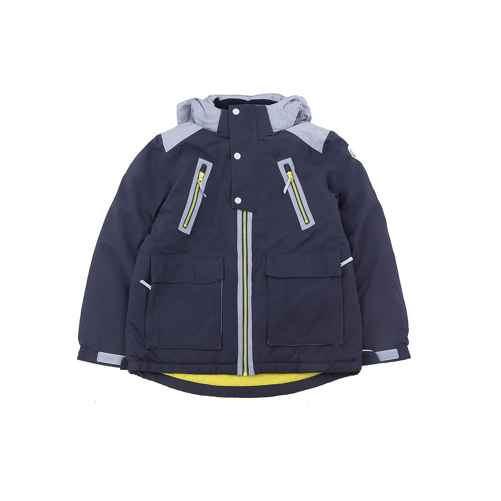 Куртка для мальчика ICEPEAKОдежда<br>Куртка для мальчика от известного бренда ICEPEAK.<br>Куртка с отстегивающимся капюшоном, молния закрыта планкой с внутренней стороны, сформированный локоть, утяжка в нижней части куртки, регулируемый рукав на липучке два кармана в верхней части куртки, накладные карманы в нижней части куртки, комбинированная ткань на плечах, утепленные и мягкие накладные карманы , мягкий и теплый внутренний воротник, светоотражающие элементы, искусственный утеплитель Finnwad, утепление 200/160 гр., рекомендуемый температурный режим до -30 град. Ощущение тепла и холода носит индивидуальный характер и зависит от теплообмена ребенка.<br>Технологии: Icetech 10 000mm/5000 g; 2-layer; Taped seams; Children's safety; Reflectors<br>Состав:<br>100% полиэстер<br><br>Ширина мм: 356<br>Глубина мм: 10<br>Высота мм: 245<br>Вес г: 519<br>Цвет: серый<br>Возраст от месяцев: 180<br>Возраст до месяцев: 192<br>Пол: Мужской<br>Возраст: Детский<br>Размер: 176,128,140,152,164<br>SKU: 5413965