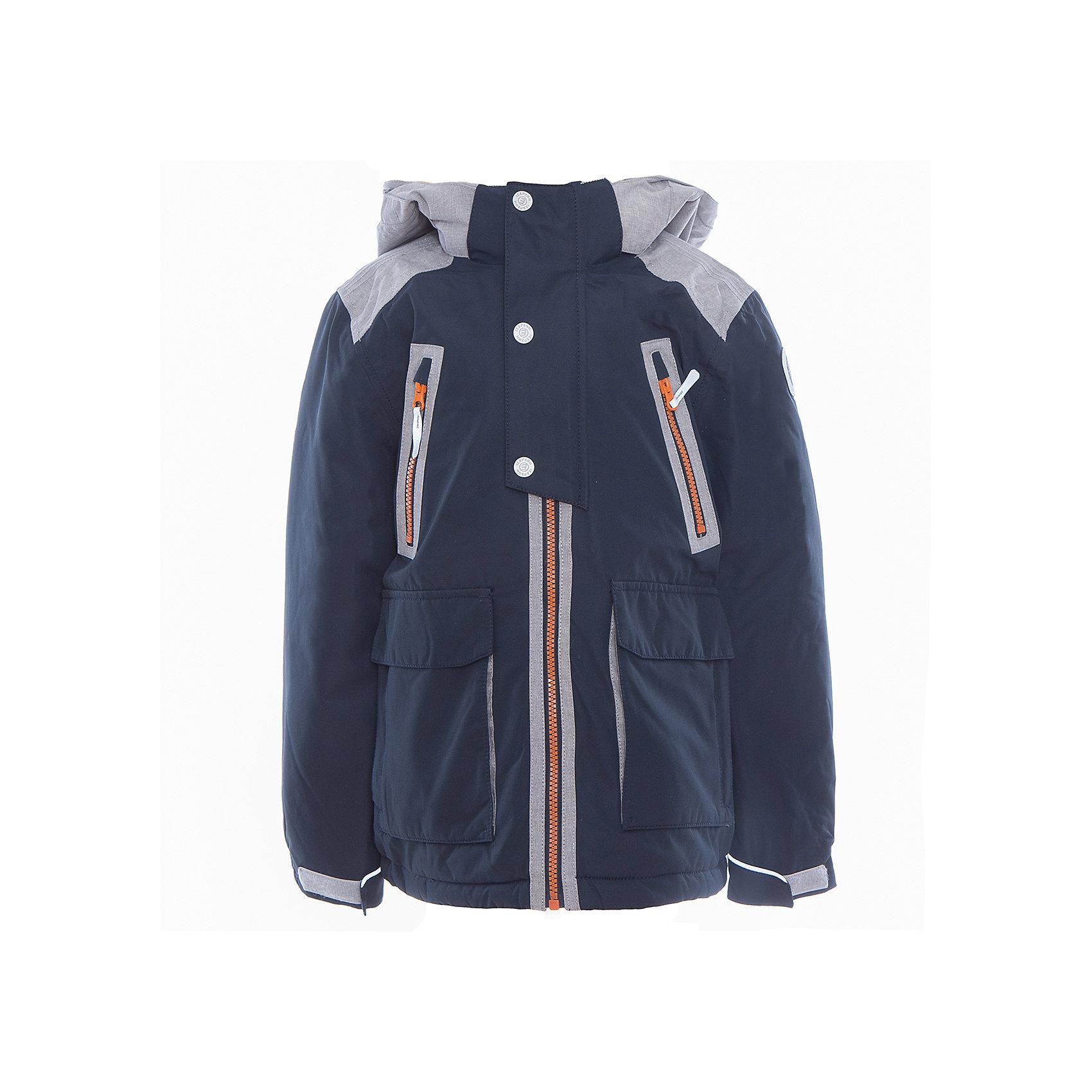 Куртка для мальчика ICEPEAKКуртка для мальчика от известного бренда ICEPEAK.<br>Куртка с отстегивающимся капюшоном, молния закрыта планкой с внутренней стороны, сформированный локоть, утяжка в нижней части куртки, регулируемый рукав на липучке два кармана в верхней части куртки, накладные карманы в нижней части куртки, комбинированная ткань на плечах, утепленные и мягкие накладные карманы , мягкий и теплый внутренний воротник, светоотражающие элементы, искусственный утеплитель Finnwad, утепление 200/160 гр., рекомендуемый температурный режим до -30 град. Ощущение тепла и холода носит индивидуальный характер и зависит от теплообмена ребенка.<br>Технологии: Icetech 10 000mm/5000 g; 2-layer; Taped seams; Children's safety; Reflectors<br>Состав:<br>100% полиэстер<br><br>Ширина мм: 356<br>Глубина мм: 10<br>Высота мм: 245<br>Вес г: 519<br>Цвет: синий<br>Возраст от месяцев: 84<br>Возраст до месяцев: 96<br>Пол: Мужской<br>Возраст: Детский<br>Размер: 128,176,140,152,164<br>SKU: 5413971